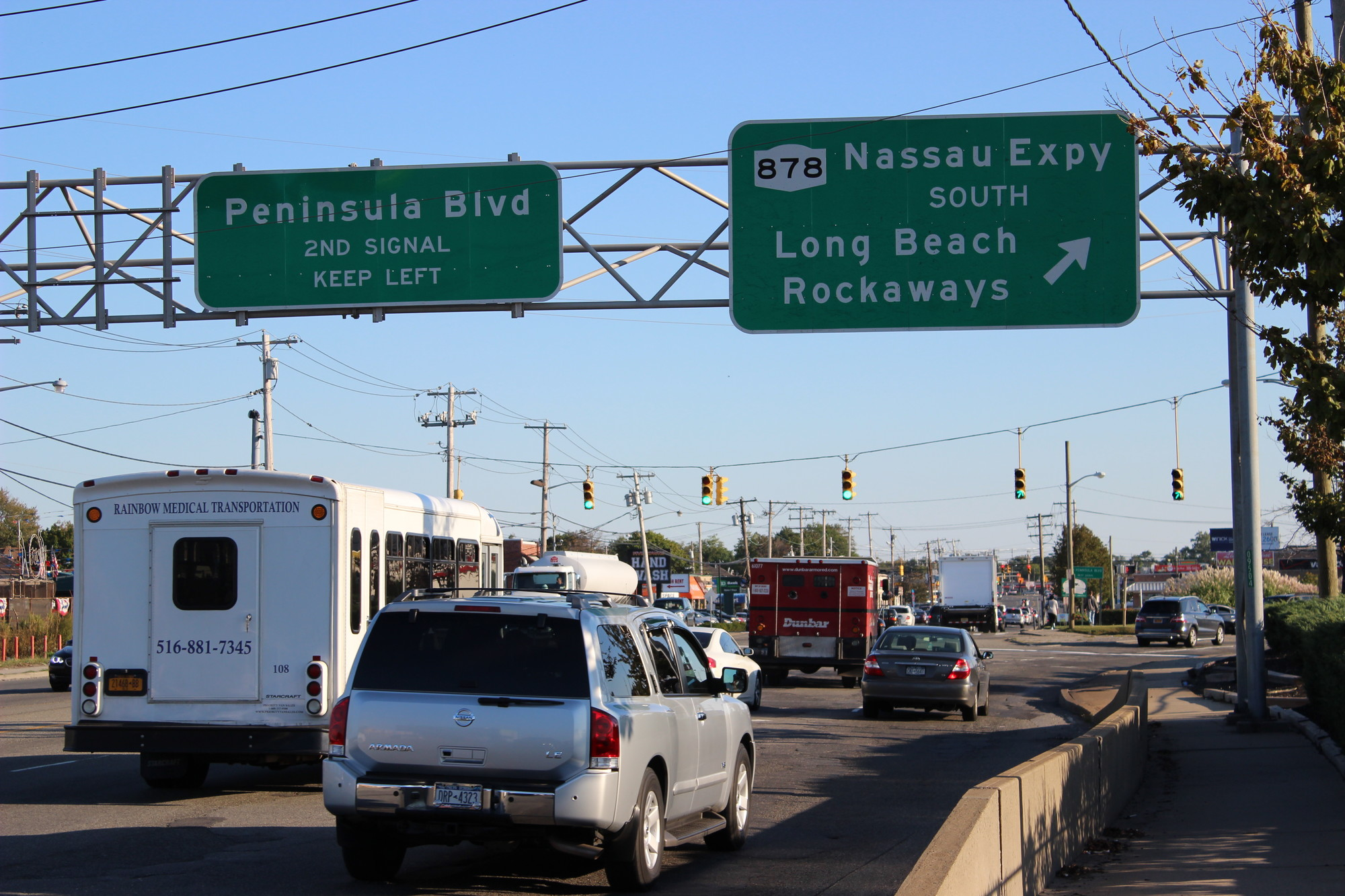 Easing traffic congestion and increasing accessibility during emergencies are the two main reasons that Legislators Howard Kopel and Phillip Goldfeder are campaigning for the state to complete construction of the Nassau Expressway.