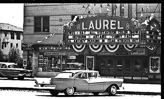 The new design will incorporate elements of the former Laurel movie theater, built alongside the diner at the southwest corner of Laurelton Boulevard and West Park in 1932.