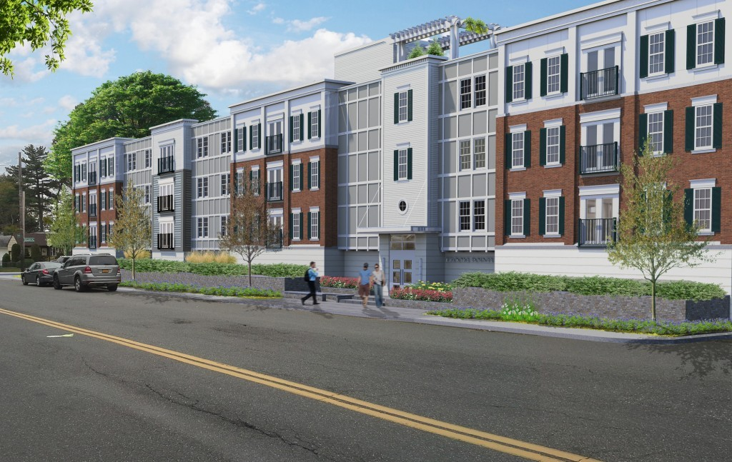 A rendering of the 39-unit apartment building, which is expected to take around 18 months to complete.