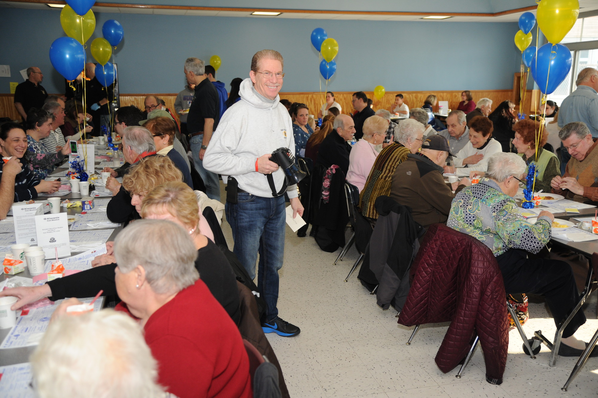 Event chairman Gary Fromowitz was pleased with the turnout.
