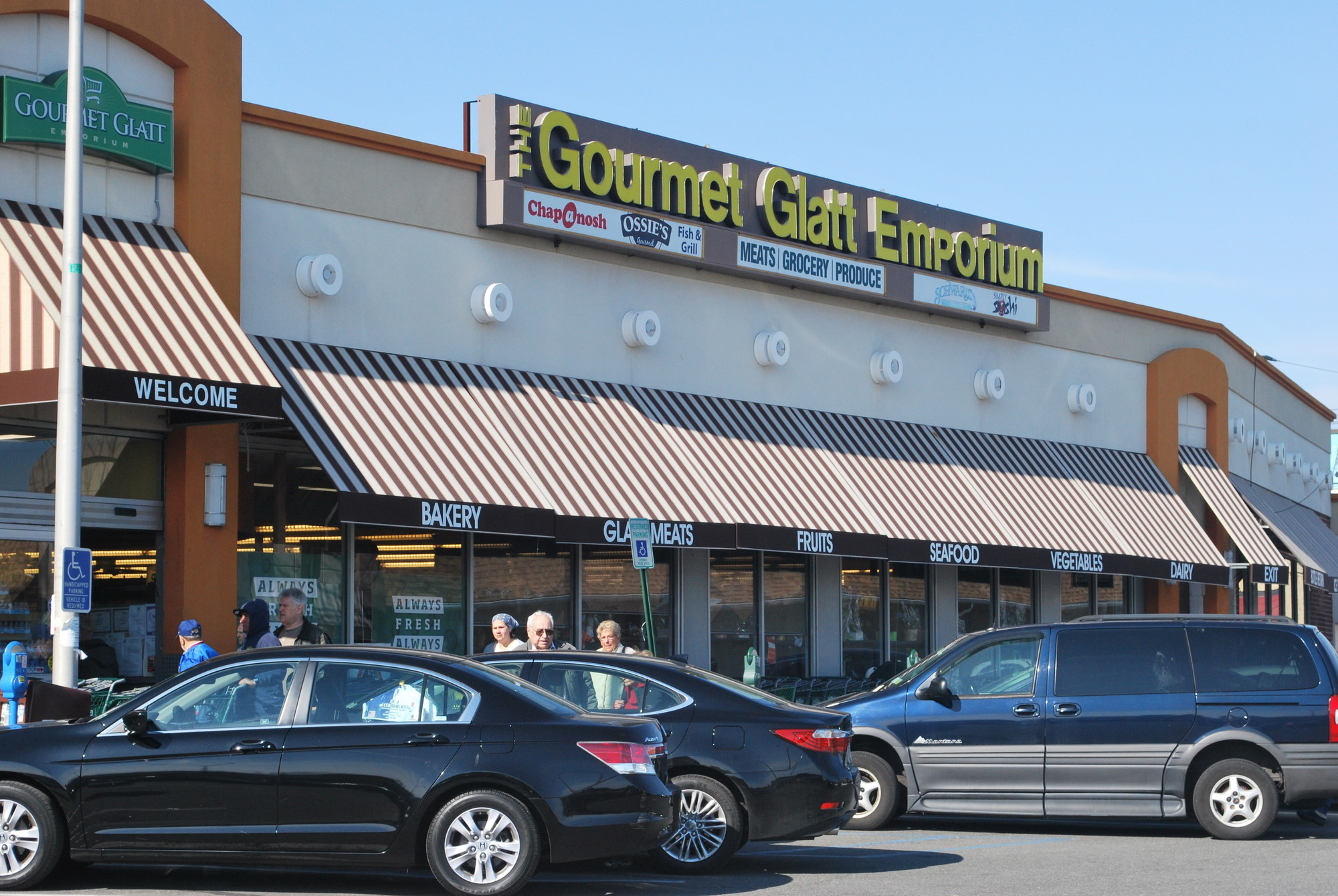 Gourmet Glatt will be checking thermal temperatures of shoppers prior to entering their stores.
