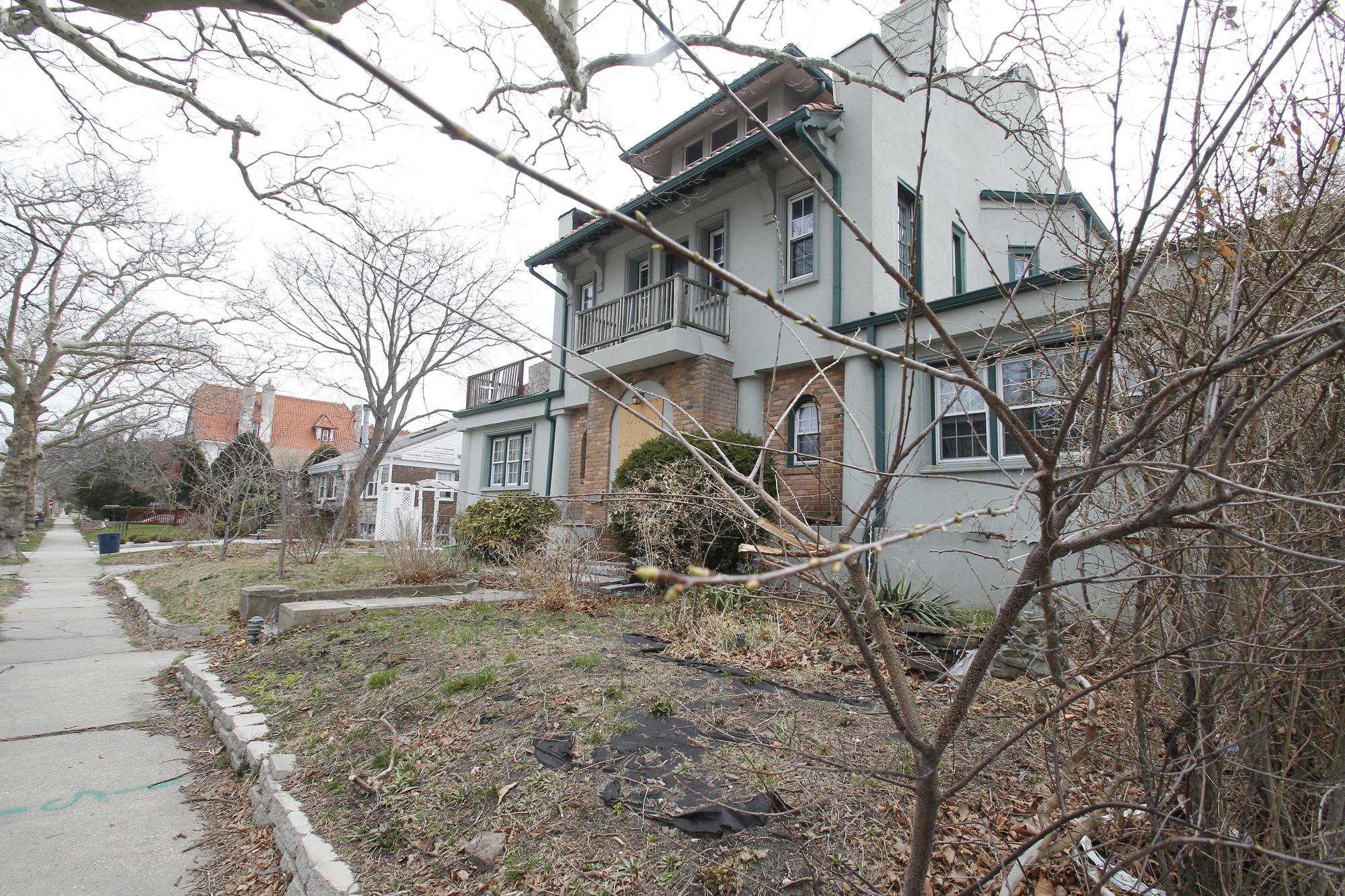 Ownership of this property has been up in the air since its elderly owner moved into a nursing home years ago and the foreclosure process stalled.