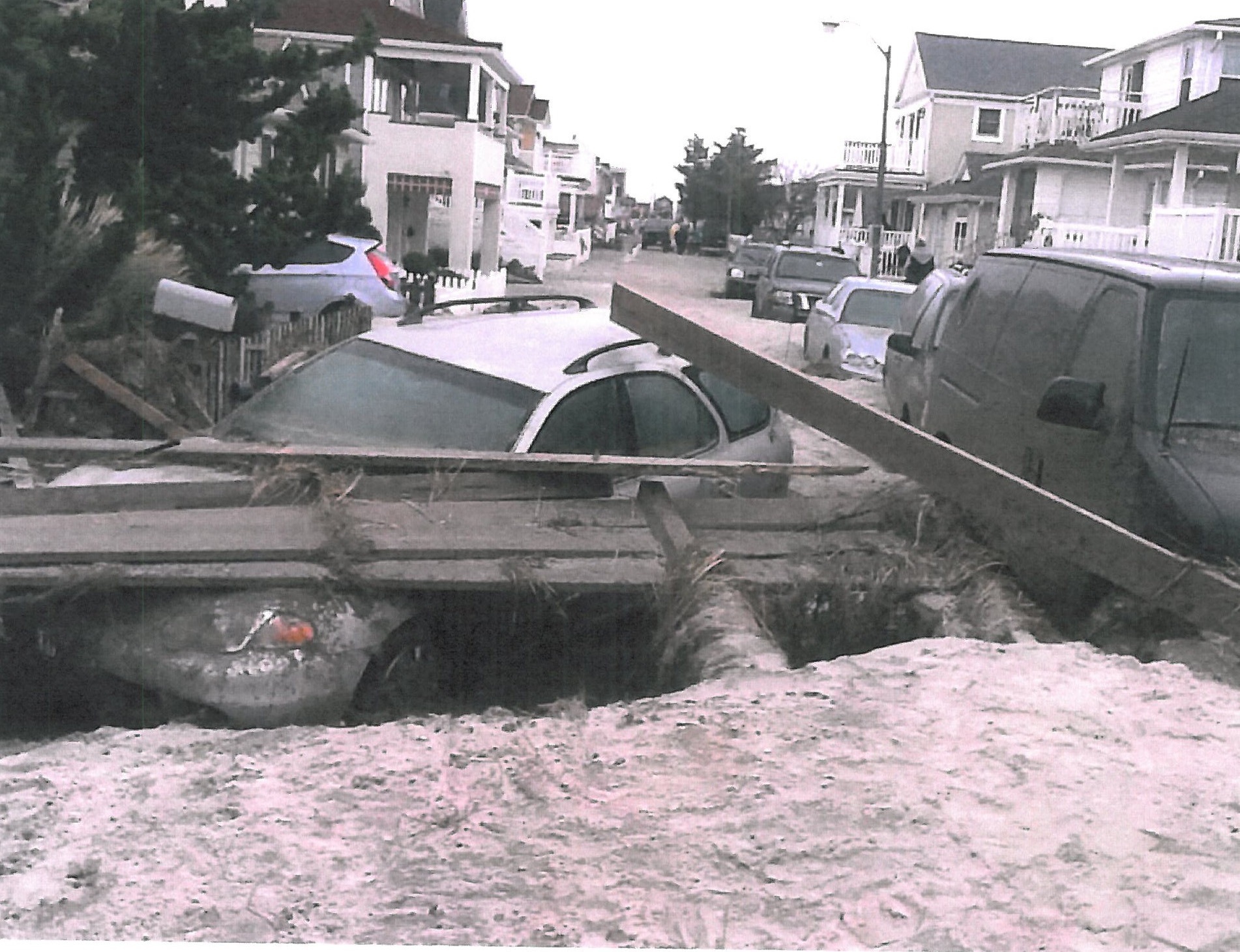 Hurricane Sandy devastated Michigan Street in Long Beach, where Bob Kaible and his wife, Deborah Raimey, owned a rental property. A false engineering report claimed that damage to their property resulted not from flooding, but earth movement.