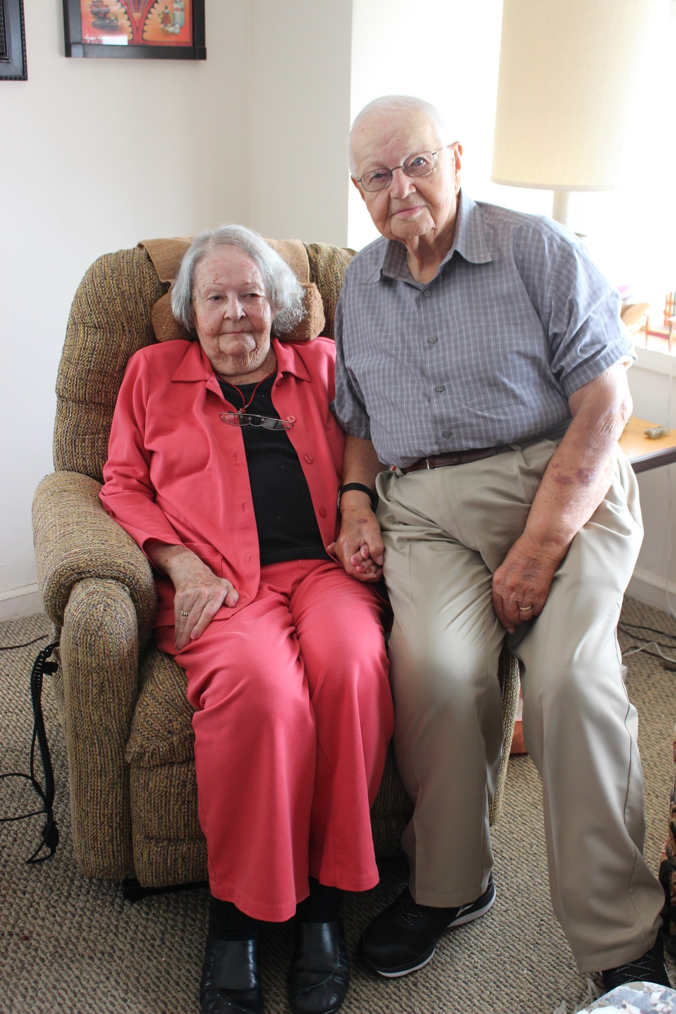 "Bernard and Charlotte Suskind have been married for 70 years. They met in Brooklyn after Bernard emigrated from Nazi Germany. His book ""We Were Fair Game"" is about his experiences as a Holocaust survivor and an American soldier."