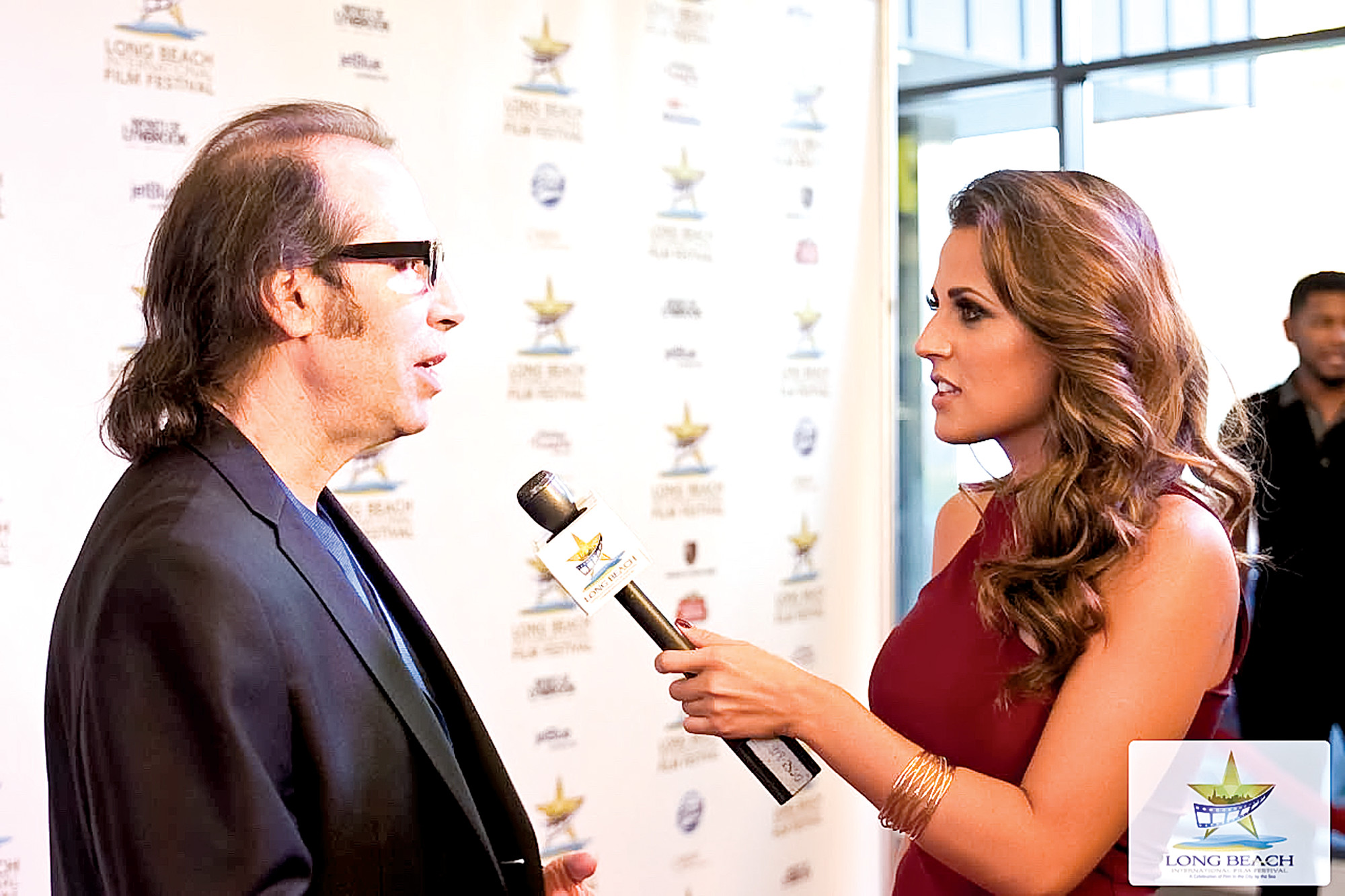 "Director Martin Guigui was interviewed by LBIFF host Marisa Hunter about his new film, ""LaMotta: The Bronx Bull."""