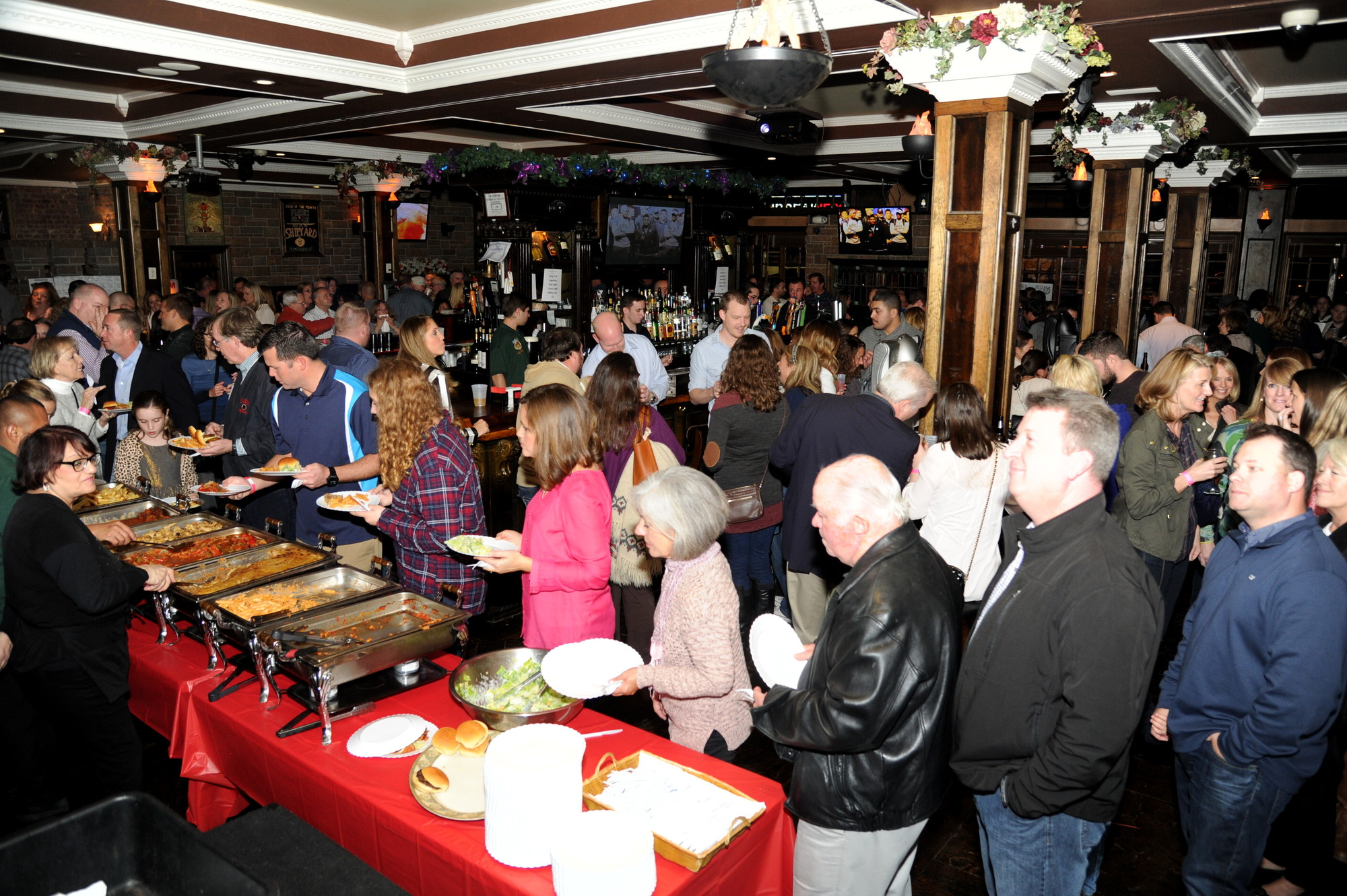 Dozens of people showed up to the event, raising more than $35,000 for the Tommy Brull Foundation.