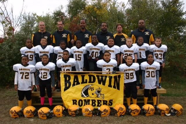 The Baldwin Bombers 8 year olds finished the season 5-2-1.