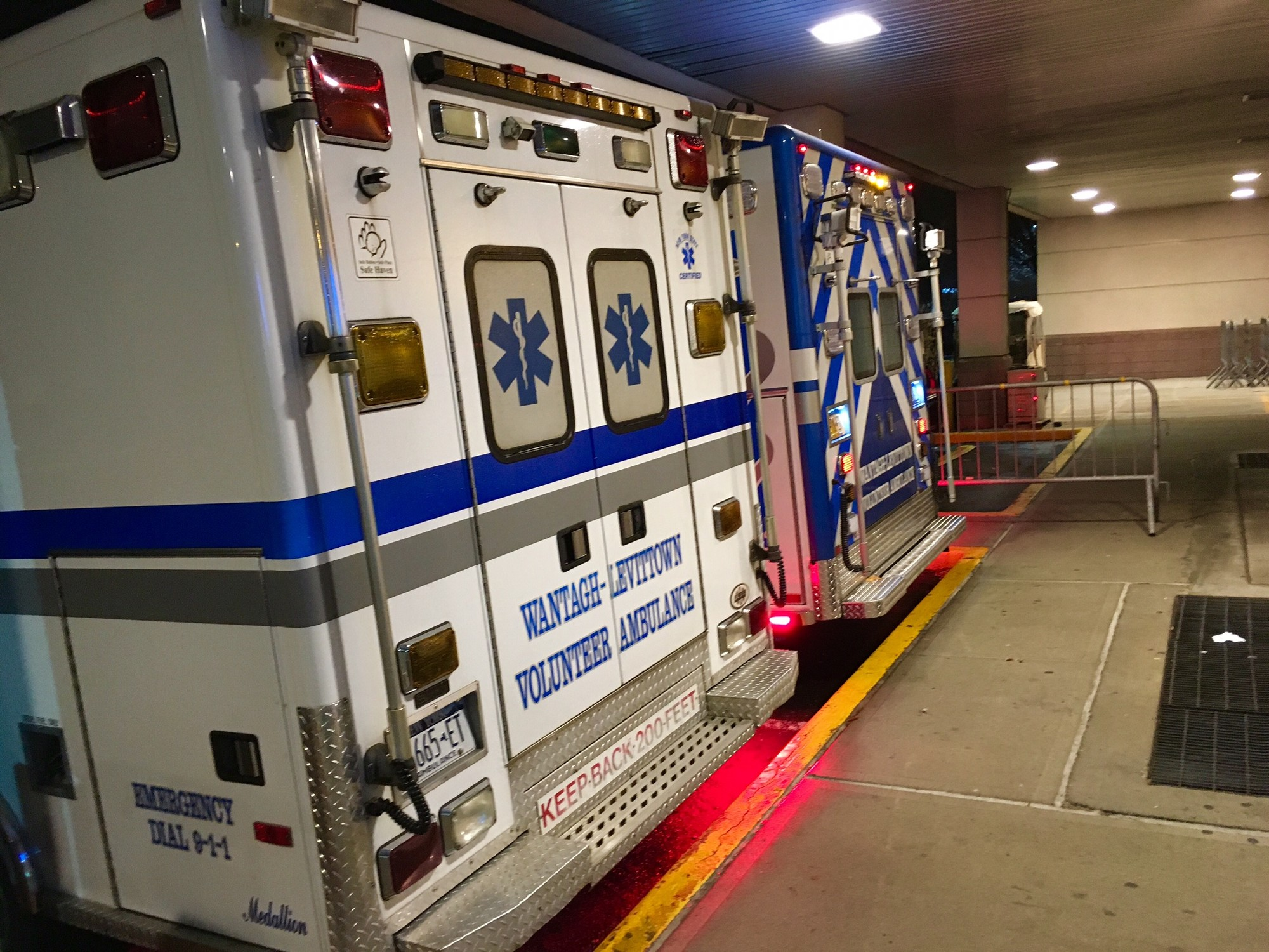 The Wantagh-Levittown Volunteer Ambulance Corps helped two victims who overdosed from heroin in separate incidents on Dec. 14.