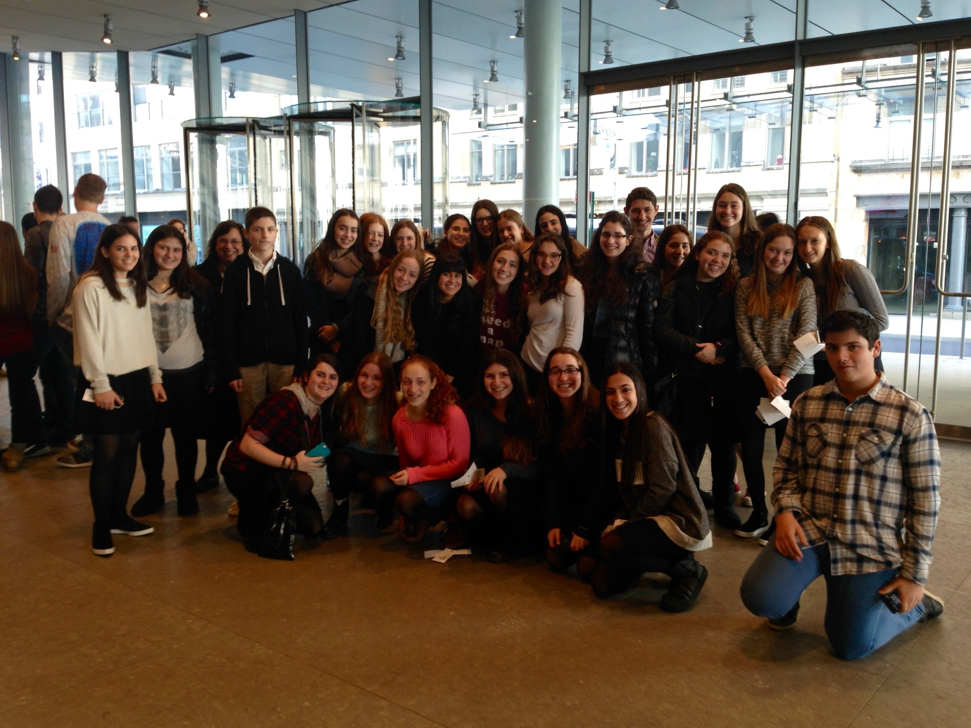 HAFTR Art Institute students visited the Whitney Museum of American Art in Manhattan.