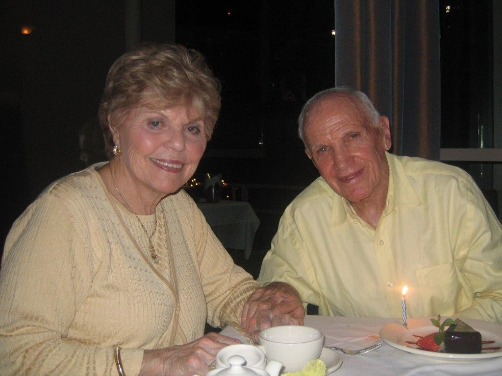 Florence and Ernie Weinrib met during World War II and were married for 62 years.
