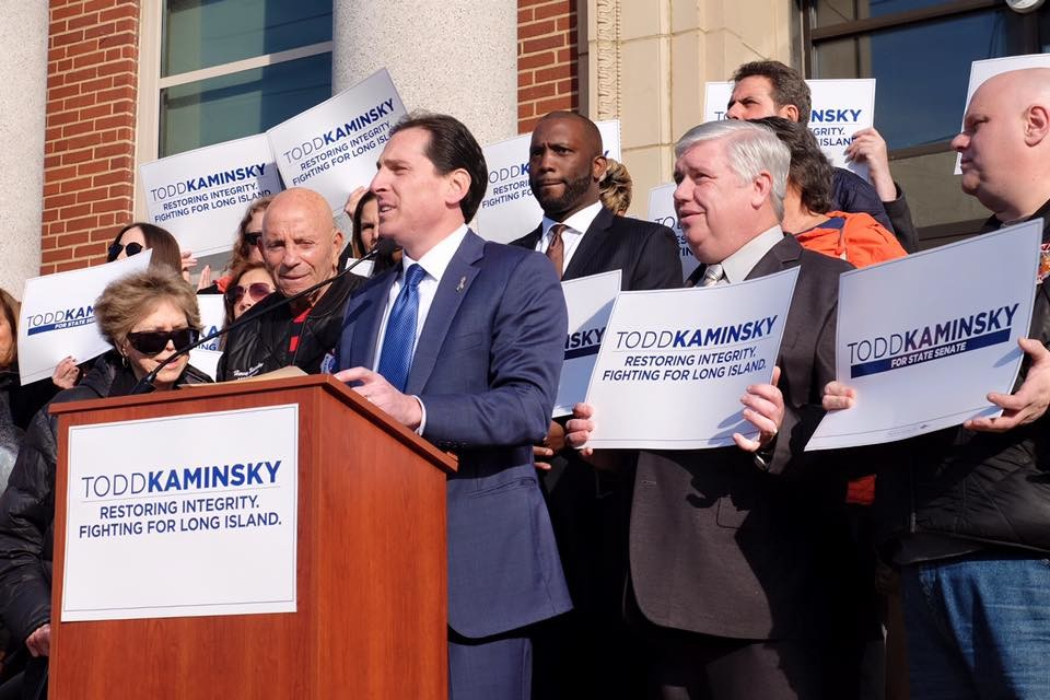 Assemblyman Todd Kaminsky, of Long Beach, announced on Sunday that he will run for the State Senate. Photo courtesy Todd Kaminsky