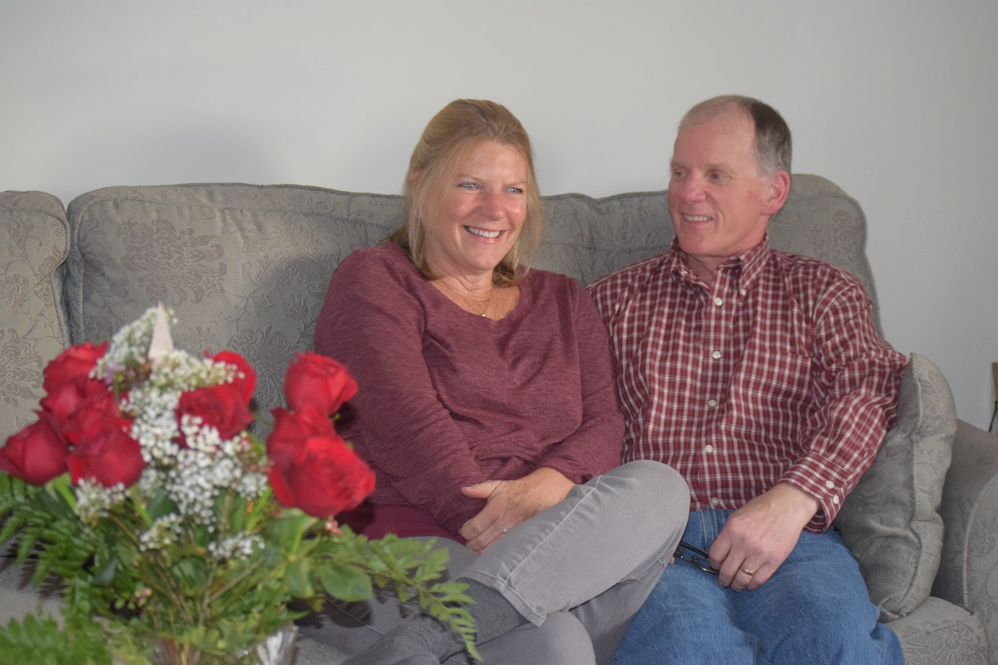 Mary and Brian Roach, of North Wantagh, still remember where they met and formed a bond 35 years ago.