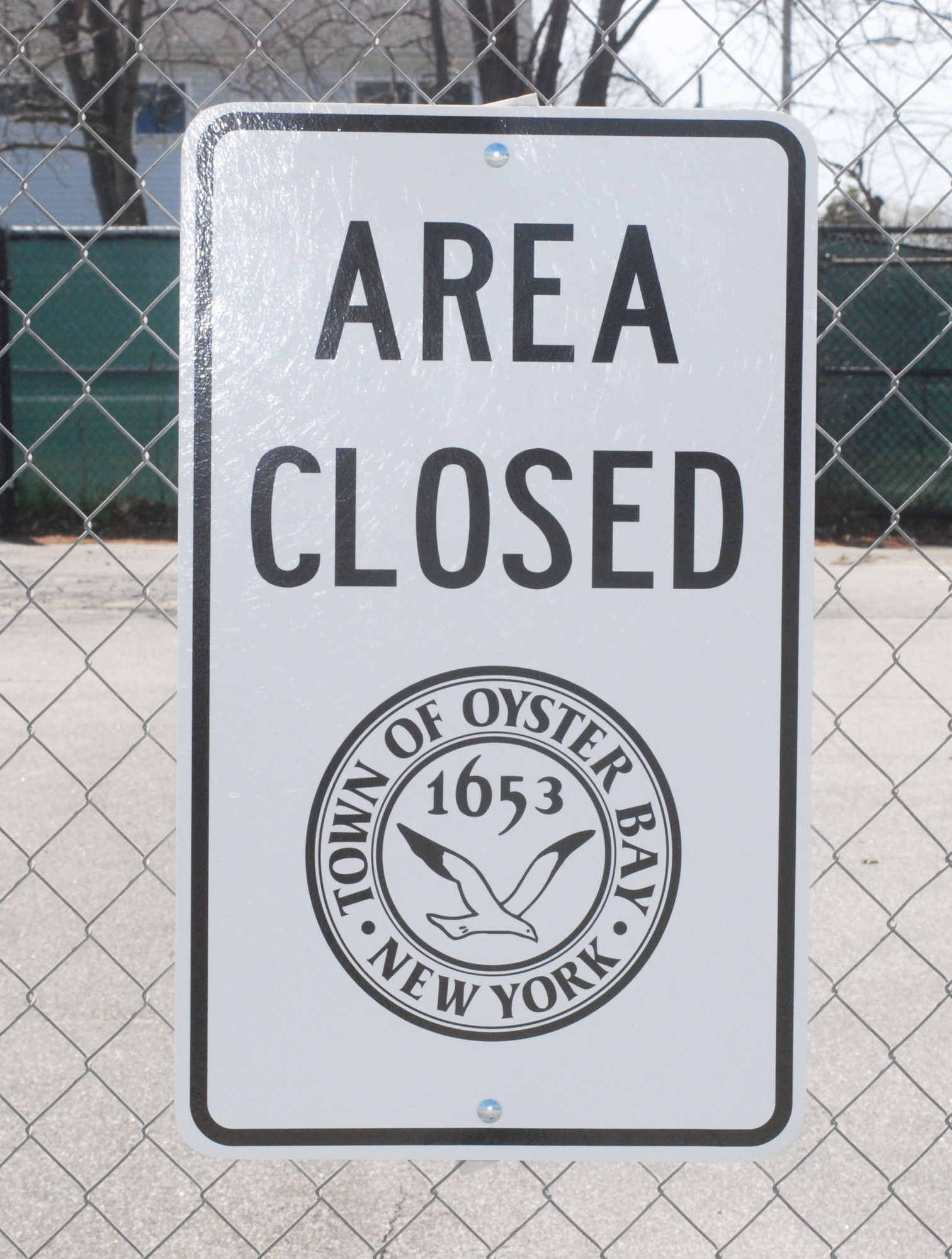 The Town of Oyster Bay closed the playground and tennis courts at Bethpage Community Park last week after officials received an anonymous tip that chemical drums might be buried at the site.