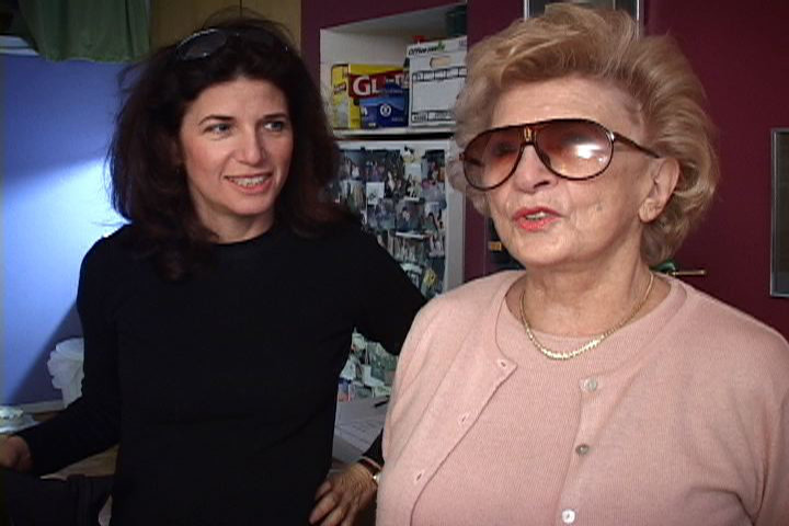 "Five Towns native Gayle Kirschenbaum, left, documented her relationship with her mother, Mildred Kirschenbaum, in the film ""Look at Us Now, Mother!"""