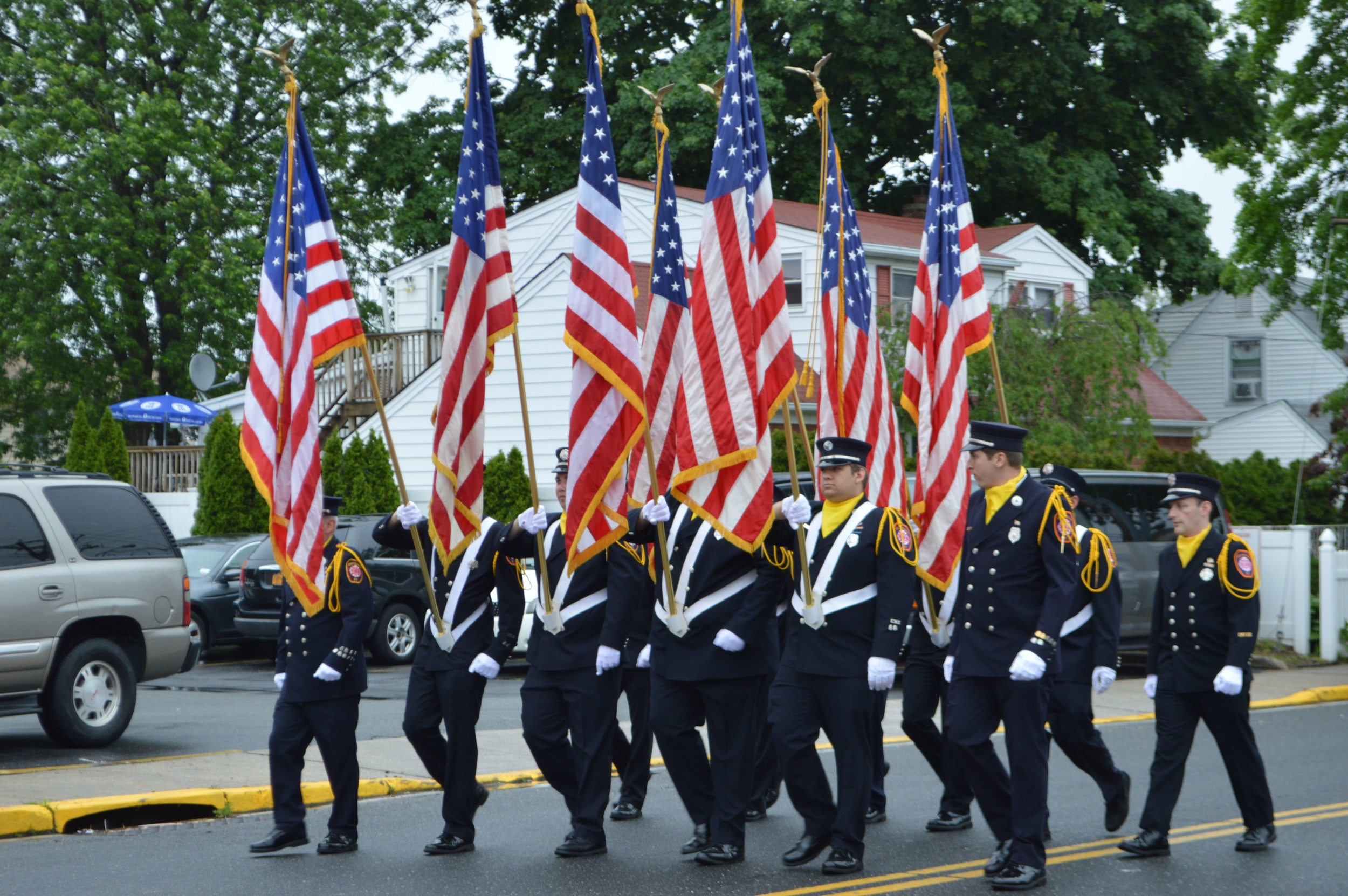 East Meadow Fire Department honors the fallen | Herald Community