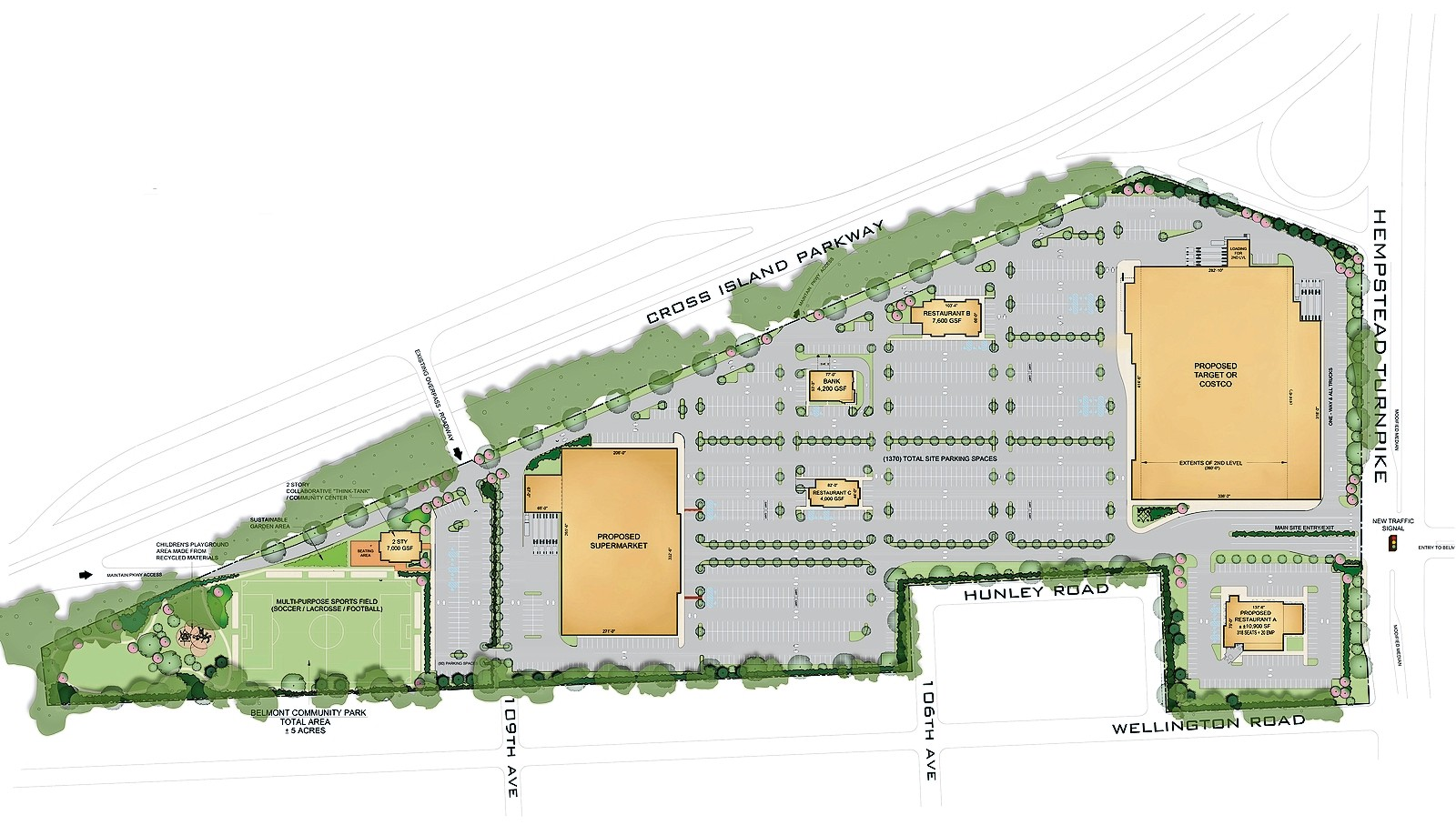 Development company Engel Burman presented its plan for the south lot of Belmont Park to the community on June 15.