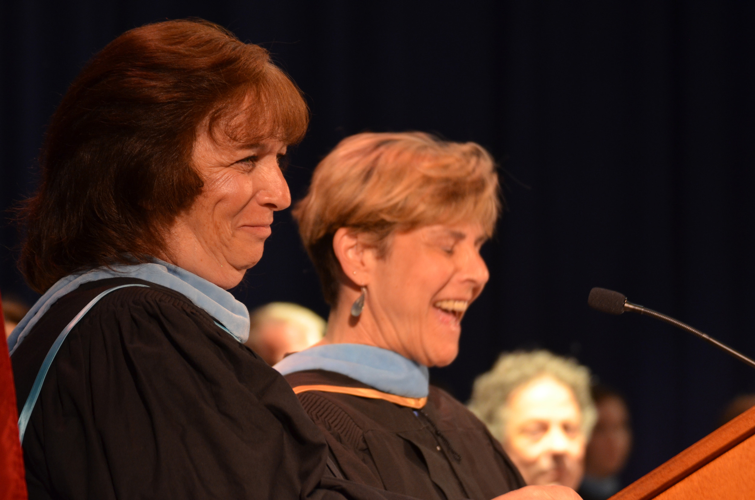Class Advisors' Message: Diane Rafferty and Randi Kilcommons