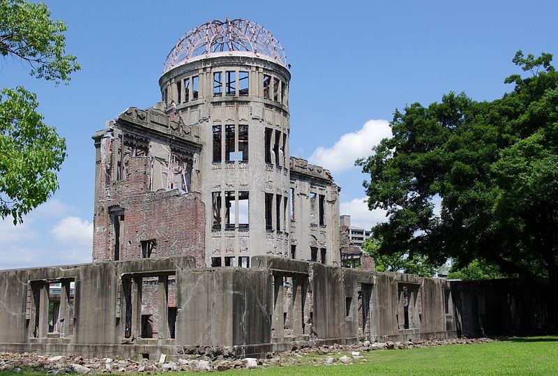 Among Hiroshima's most famous sites is the Genbaku Dome, or Hiroshima Peace Memorial, which remained standing as a shell of its former self after the atomic bomb blast there in 1945.