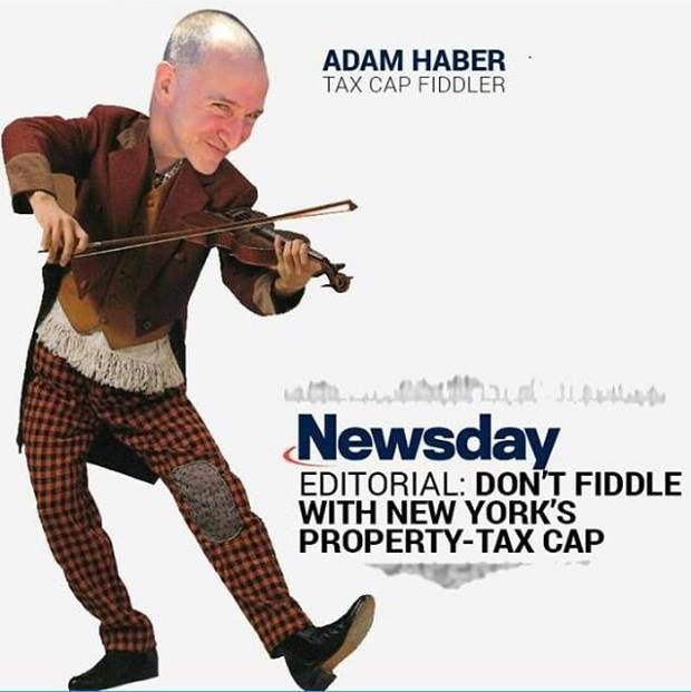 This ad against State Senate candidate Adam Haber was called out by Haber's campaign and others on Long Island for its anti-semitic undertones.