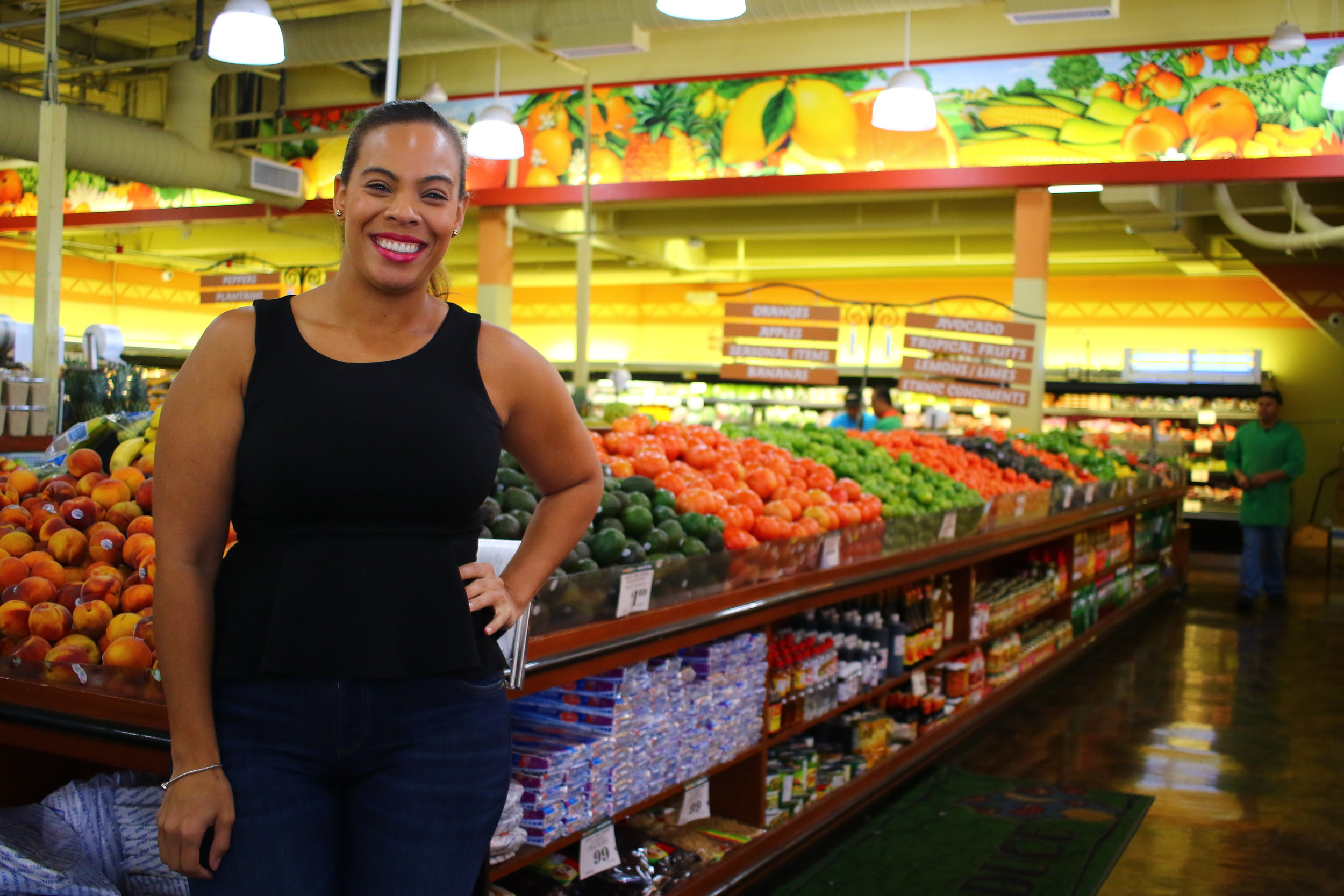 Jenny Jorge, vice president of operations for the Compare Foods in Freeport, said her uncle, a native of the Dominican Republic, started the family in the supermarket business.
