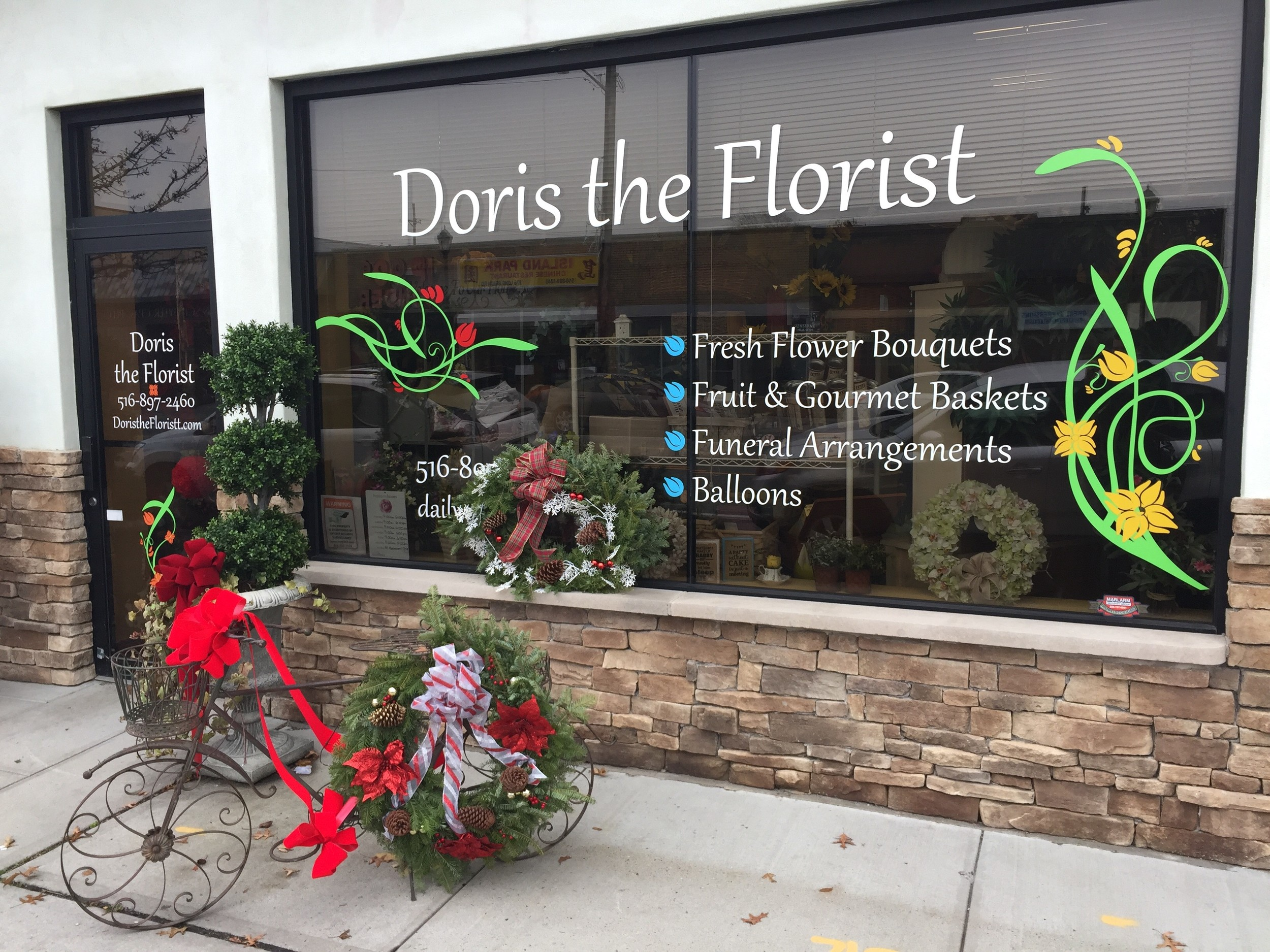 "Doris the Florist was named ""Small Business Person of the Year"" by the Island Park Business and Residential Chamber in October."