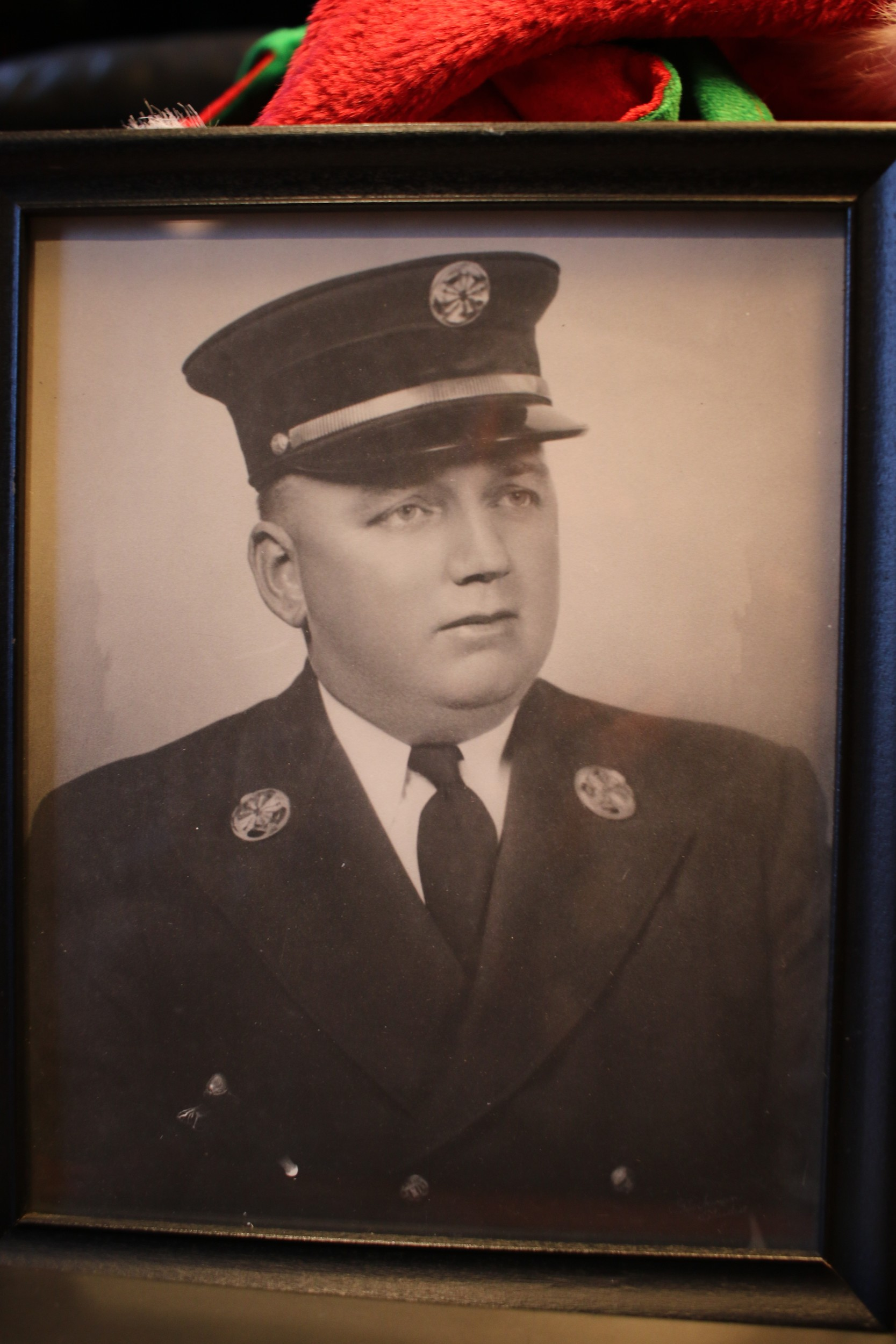 Kenneth L Lewis, Freeport's Fire Chief, 1943-1944