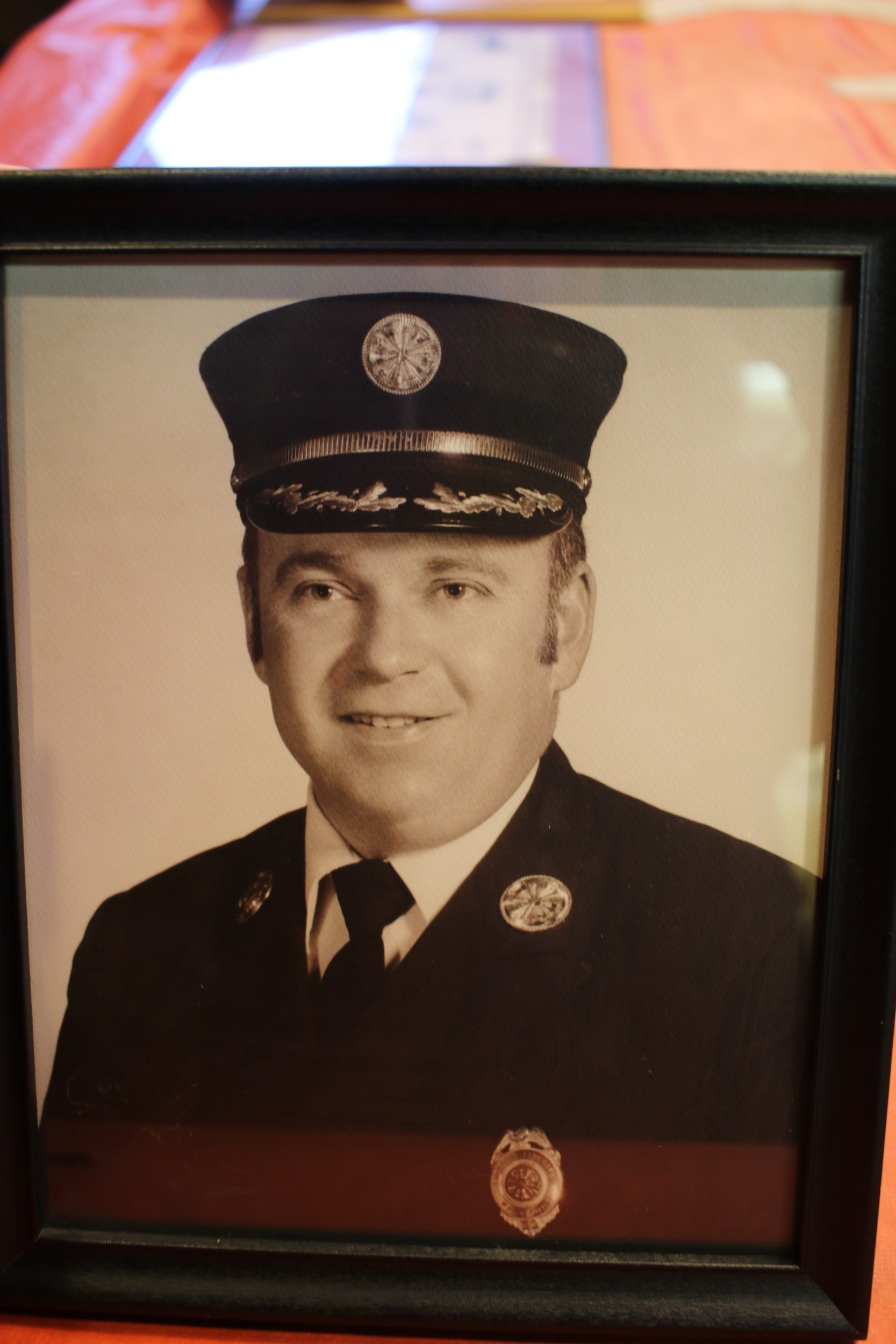 Arthur W Lewis, Freeport's Fire Chief, 1976-1977