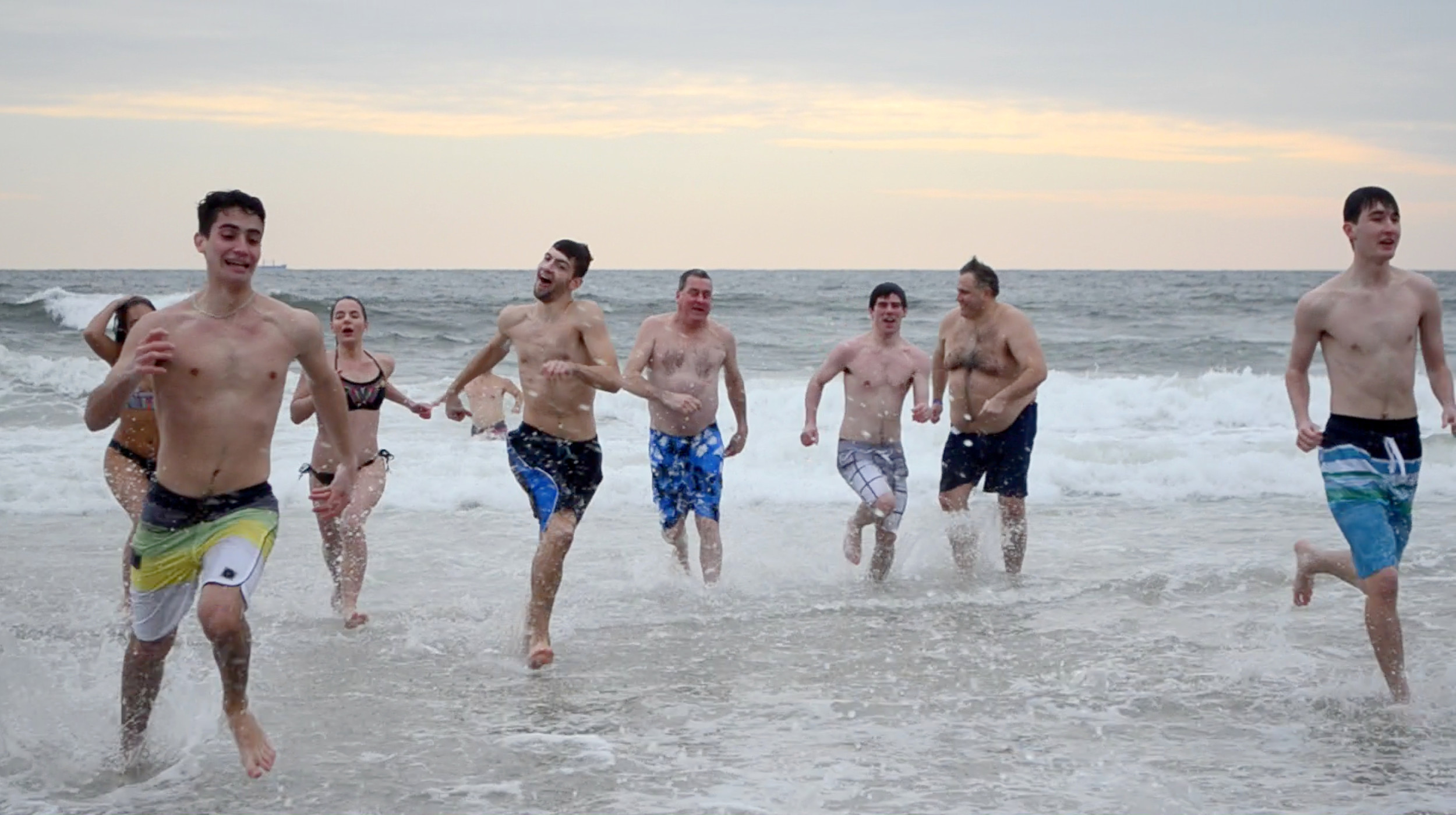 Long Beach residents and visitors alike ran into the icy waters on Feb. 5 to raise money for the Make-A-Wish foundation.