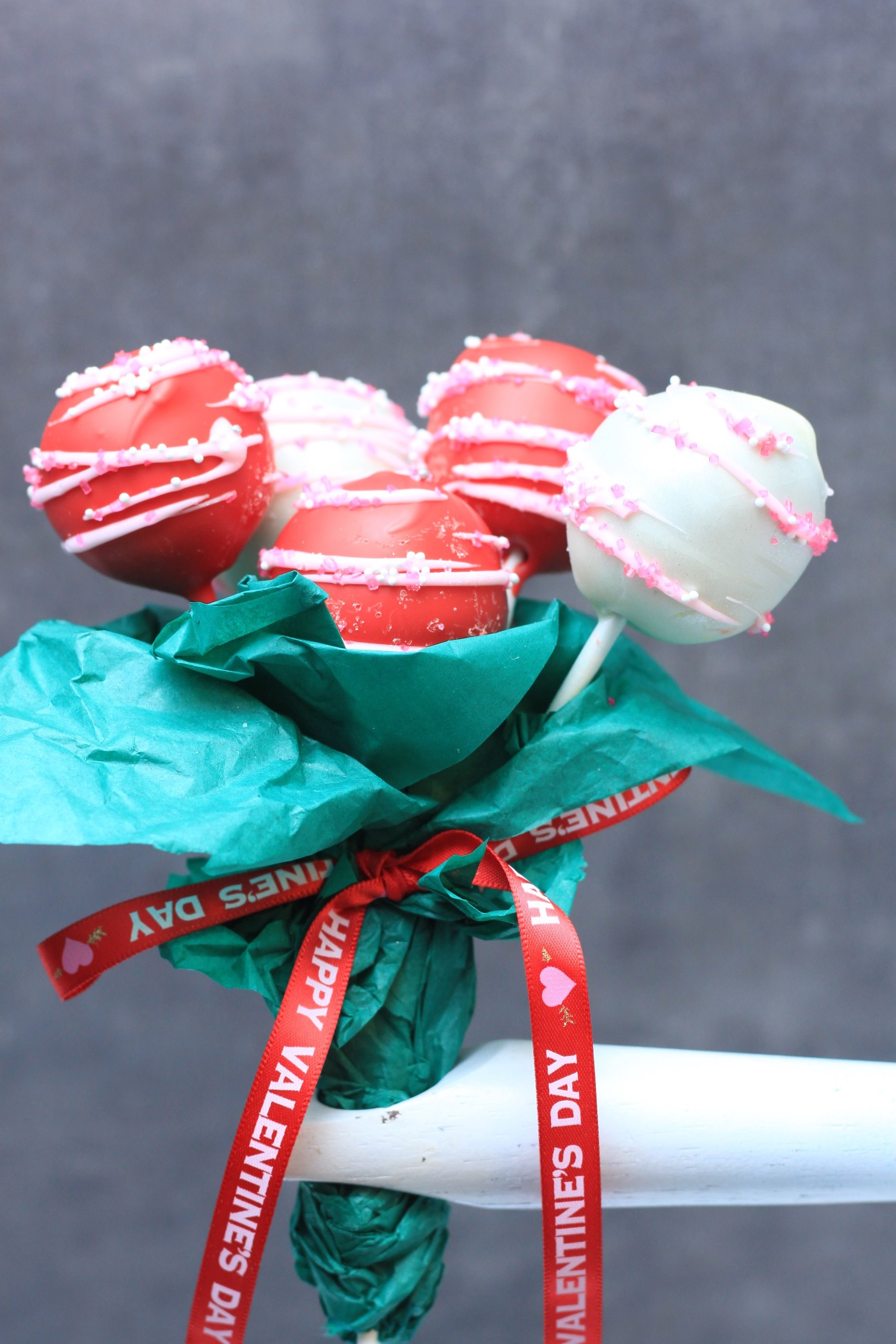 Bouquets of cake pops will be one of the Valentine's Day items featured in the bakery.
