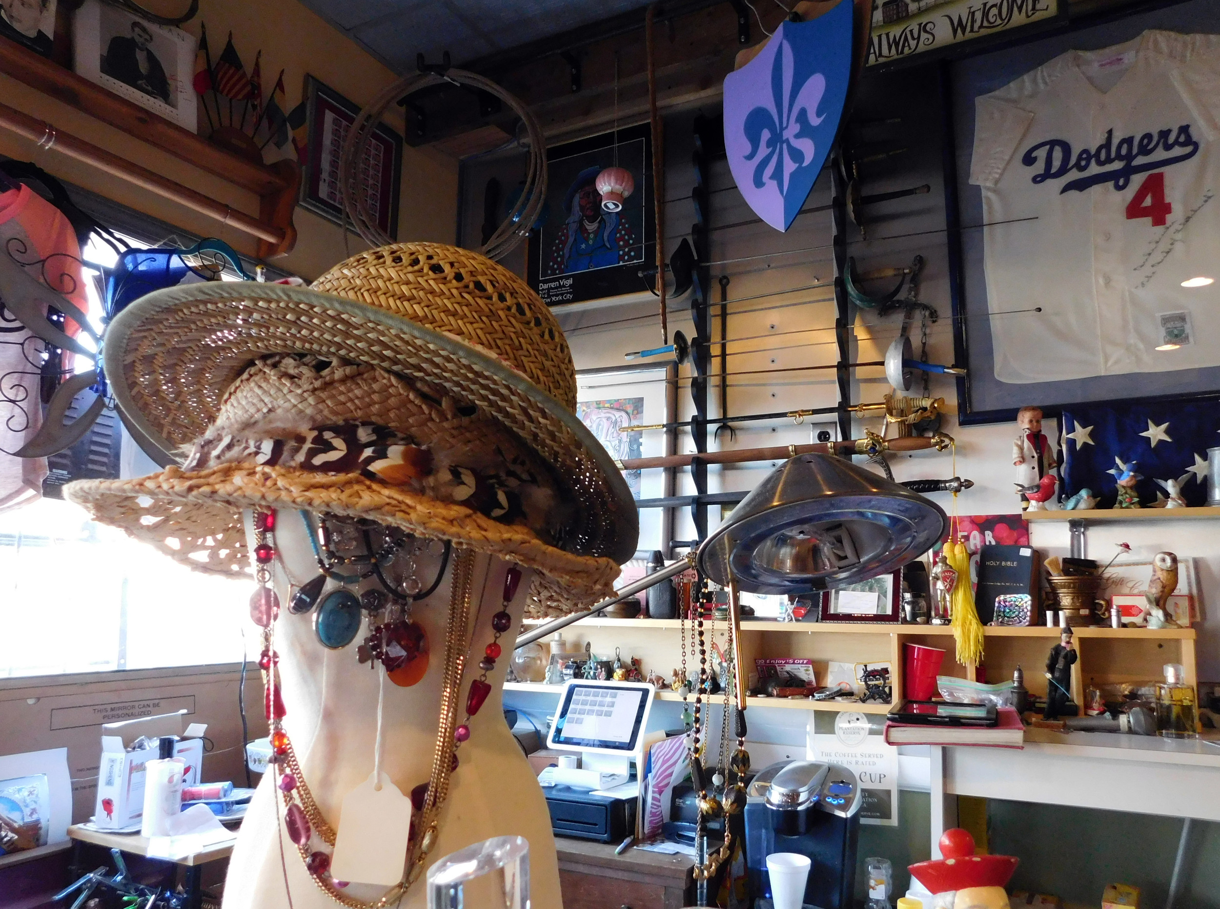 Anything from vintage clothing to jewelry, sports memorabilia and antique weapons can be found tucked away in some corner of the Long Island Trading Post.