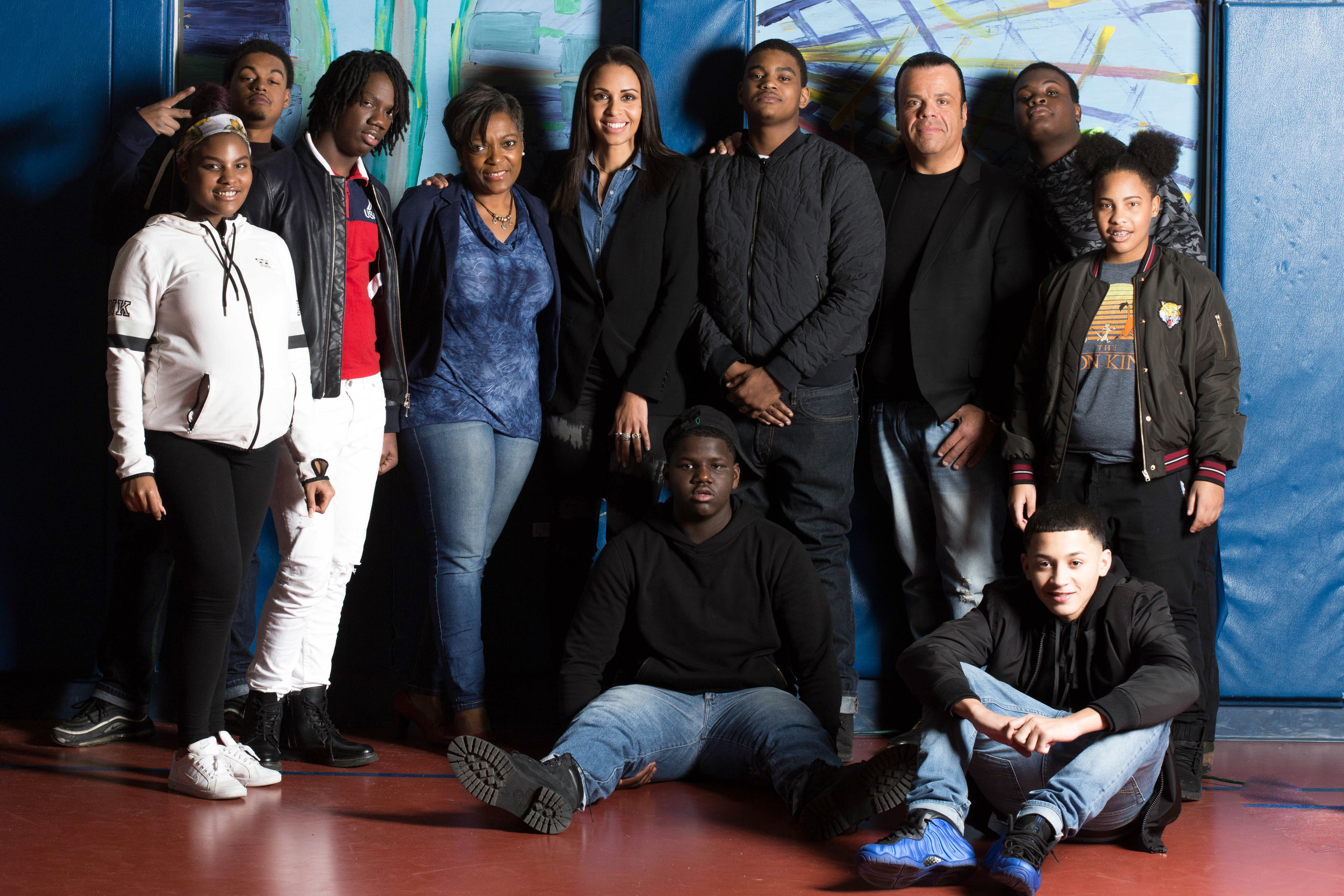 "The young adults interviewed in ""PEI Kids: Generation Change"" posed for a group photo."