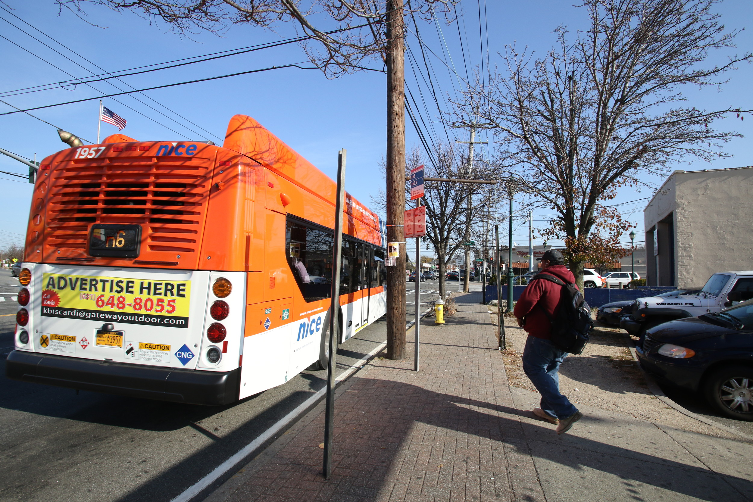 The Elmont Flexi of the Nassau Inter-County Express is one line among several routes expected to be reduced because of budget constraints.