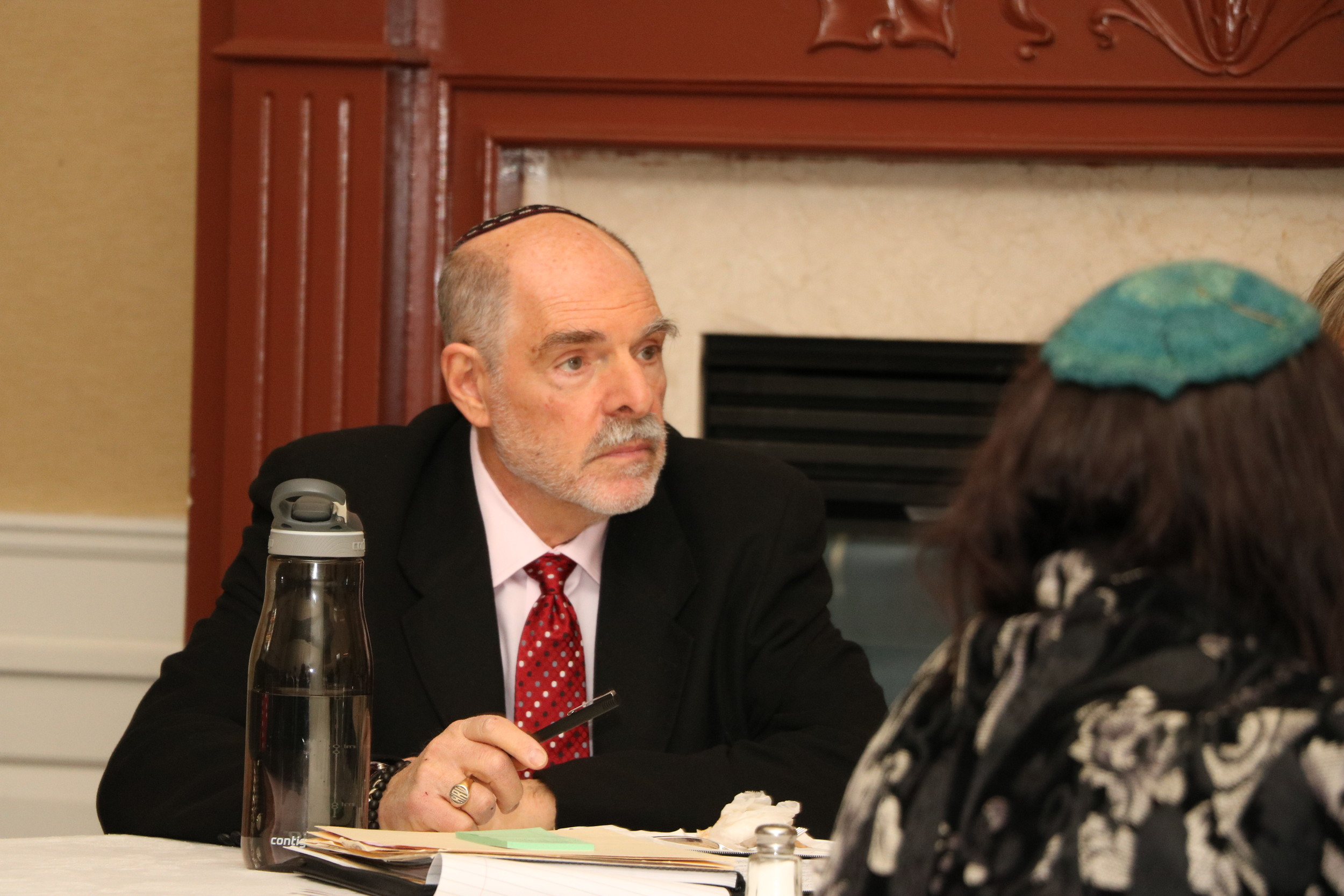 Rabbi Art Vernon of Shaaray Shalom, in West Hempstead, led a Feb. 7 meeting at which participants discussed creating an interfaith group of Muslims, Jews and Christians in Nassau County.