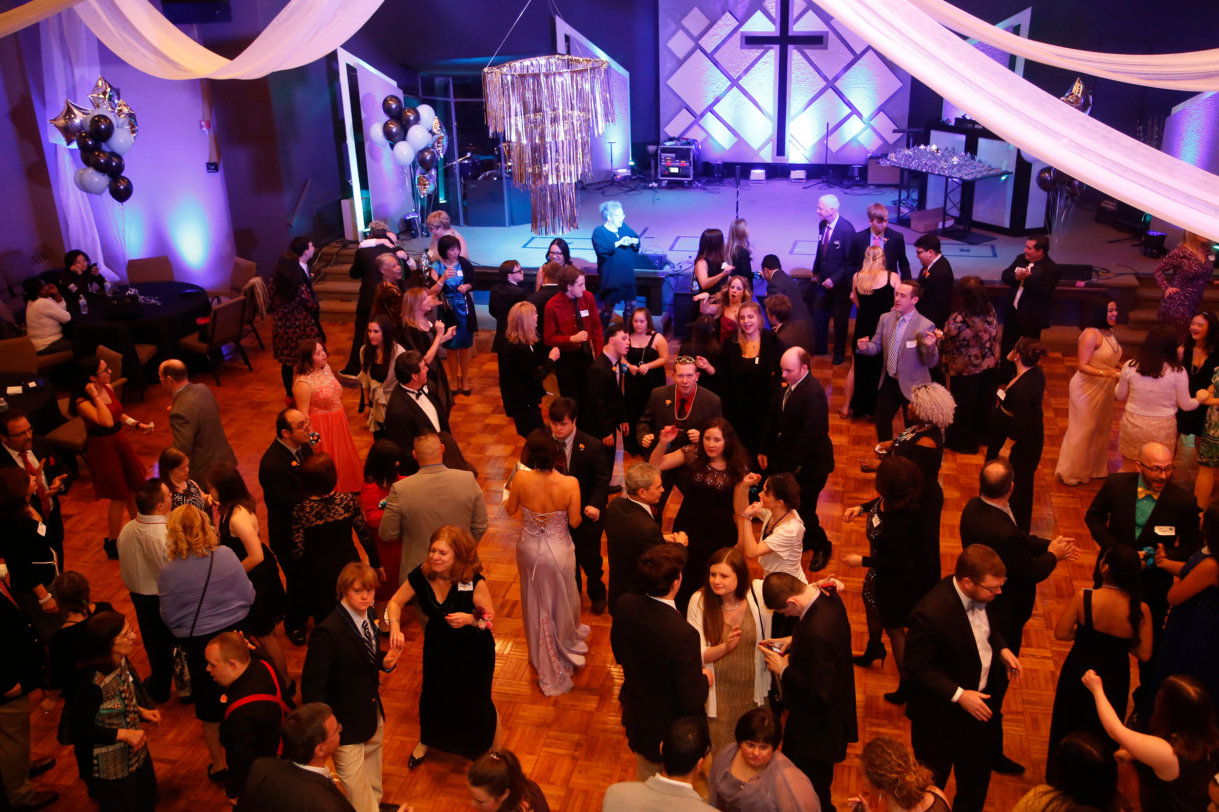 "About 350 people attended the ""Night to Shine"" event, which was hosted by The Bridge Church on Feb. 10."