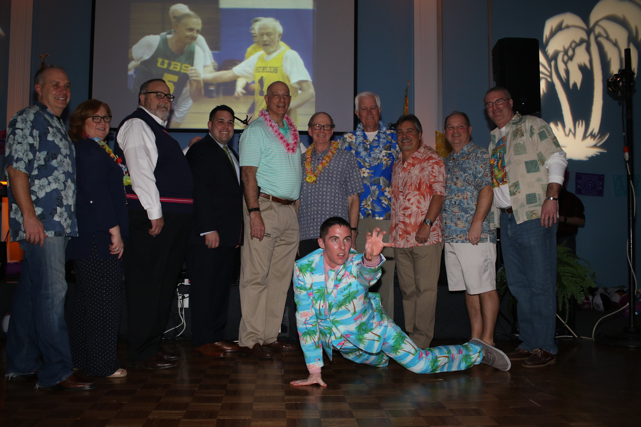 The scene was tropical at the fourth annual Margaritaville.
