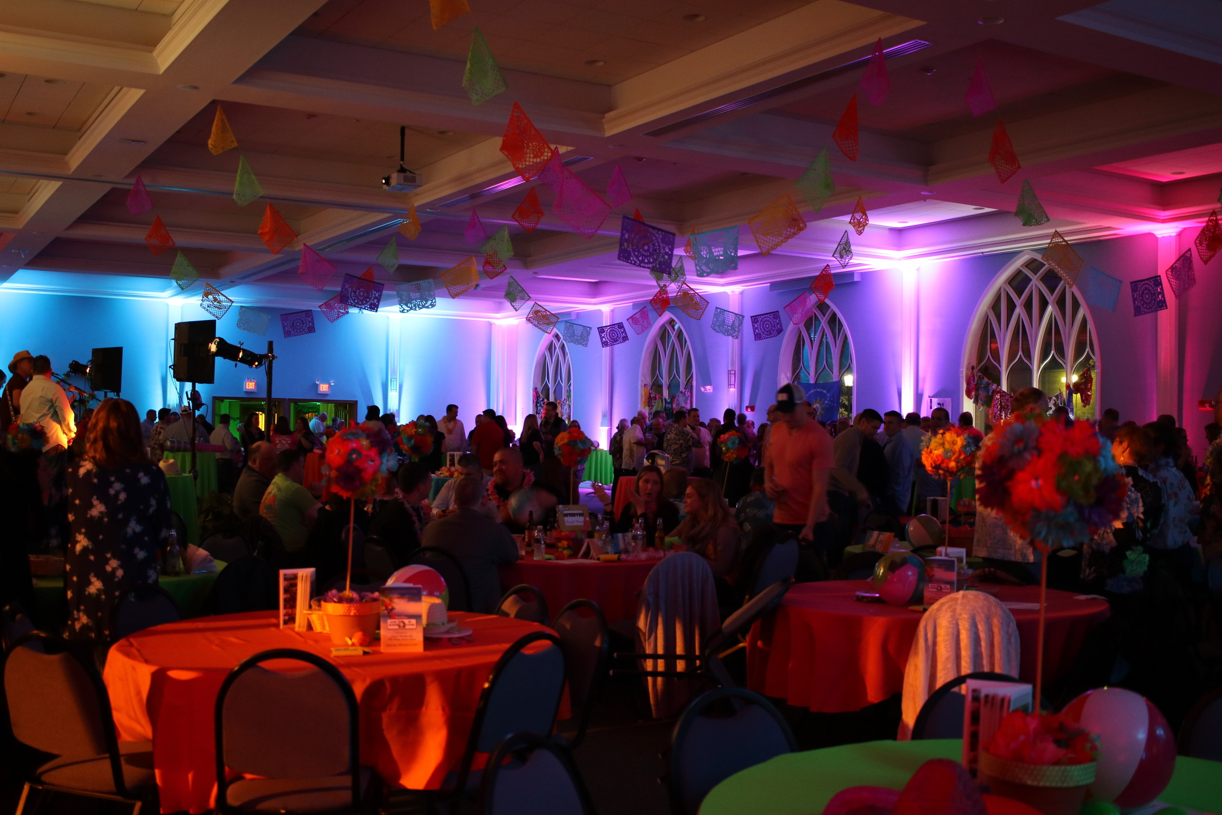 Margaritaville was another great success. This years honorees the Over 40 Senior League were treated to a night of music, fun, dancing, raffles and more at the St. Agnes Parish Center.