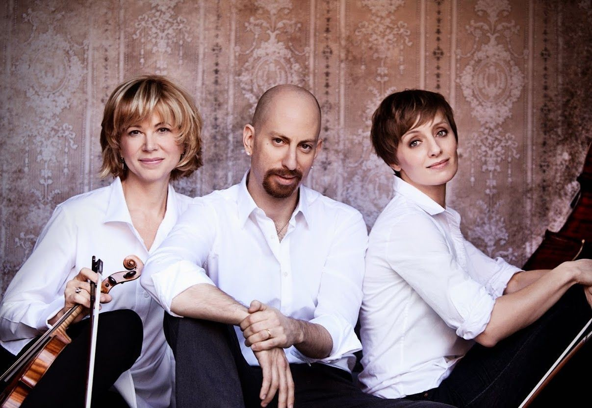 The renowned piano trio performs at Adelphi University Performing Arts Center on Feb. 17.