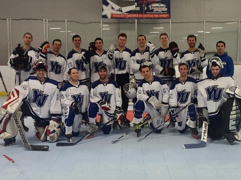 The Maccabees are the only all-Jewish team in their collegiate roller hockey league.