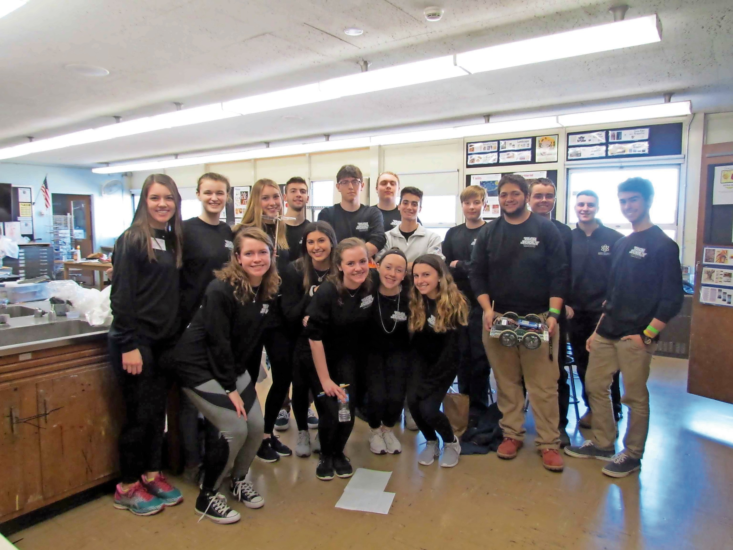 Wantagh High School students competed in the regional Science Olympiad competition on Feb. 4.