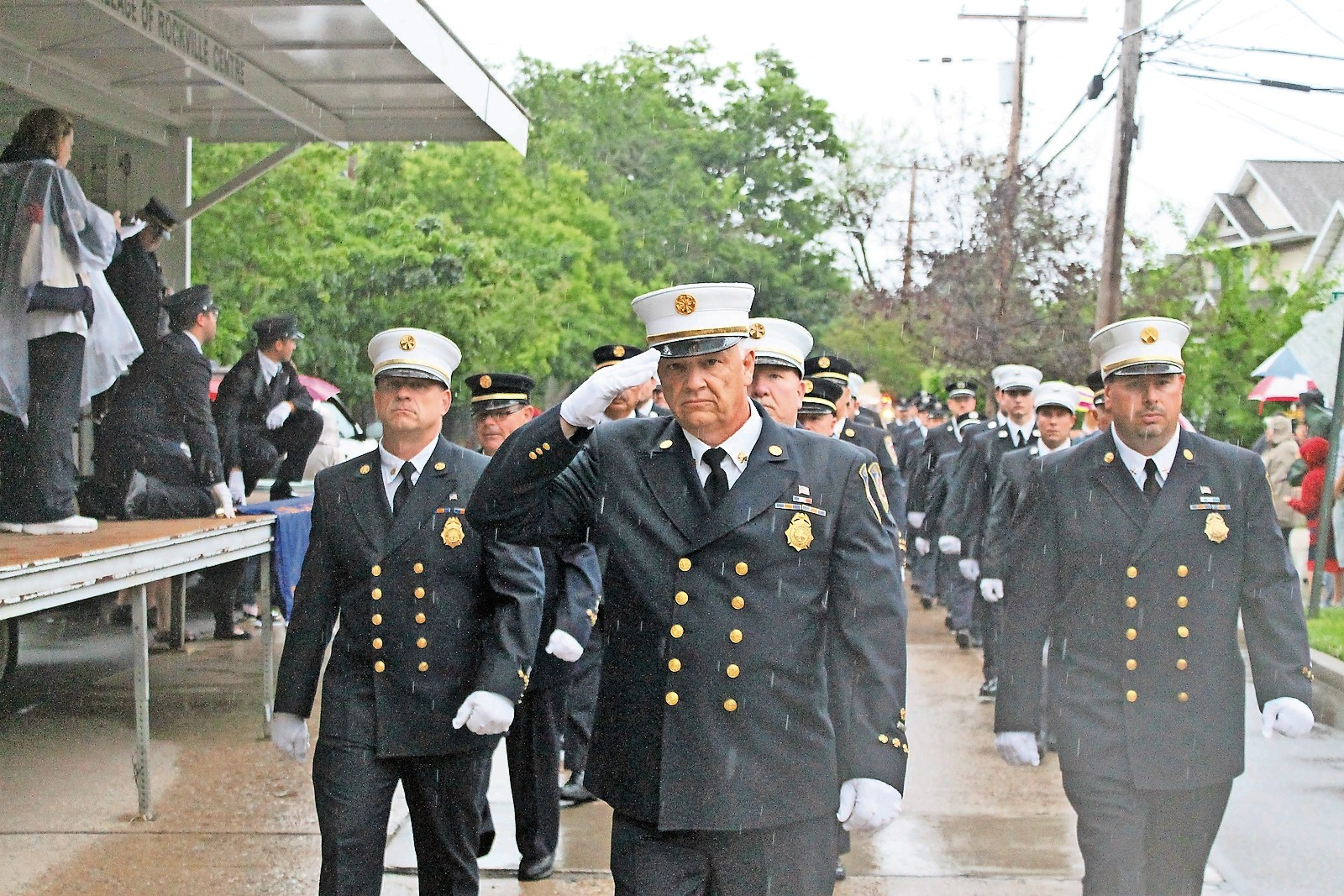 The late James McDermott is the only person in the history of the Lynbrook Fire Department to be named chief twice.