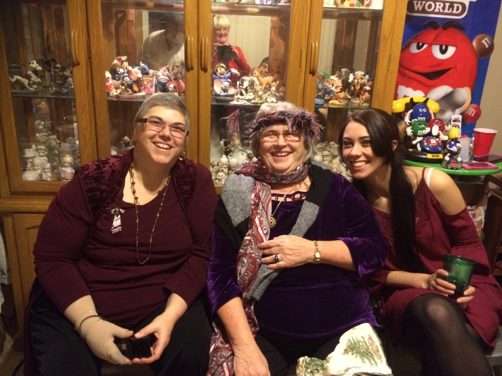 Toni Wilson, left, enjoyed one final Christmas Eve with her mother, Evelyn Henn, and daughter, Elizabeth, before succumbing to cancer on Feb. 26.
