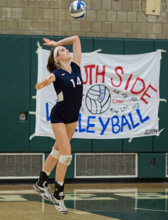 Former South Side High School volleyball standout Kayla Principato recently tried out for the U.S. Women's National Team.