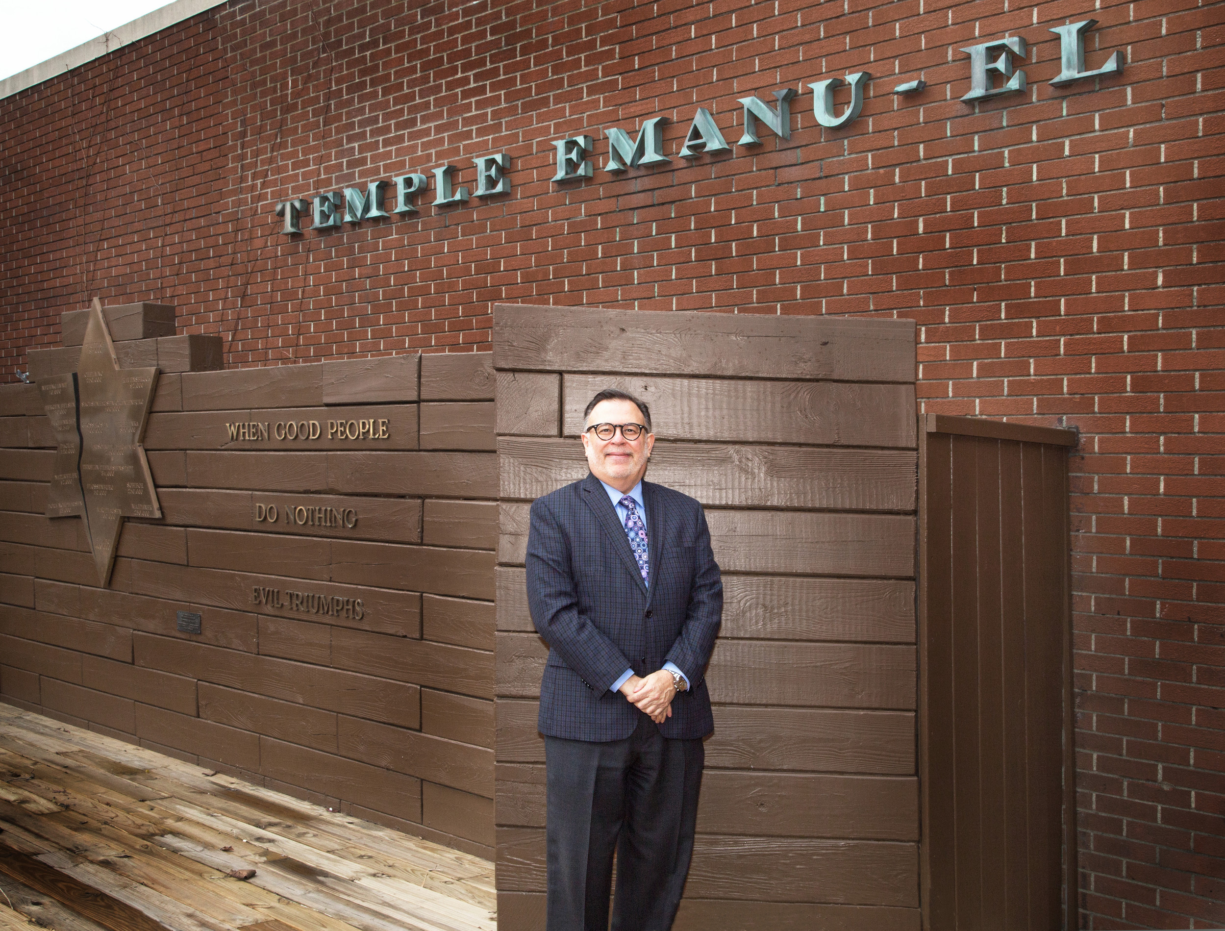 Zanerhaft has ties to the Long Beach community through family members who live in the area and said the temple has welcomed him with open arms.