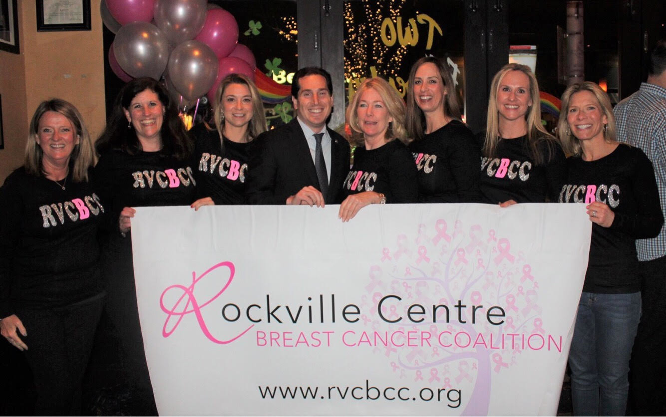 The Rockville Centre Breast Cancer Coalition had a special launch party and fundraiser at Kasey's Kitchen and Cocktails on March 9.