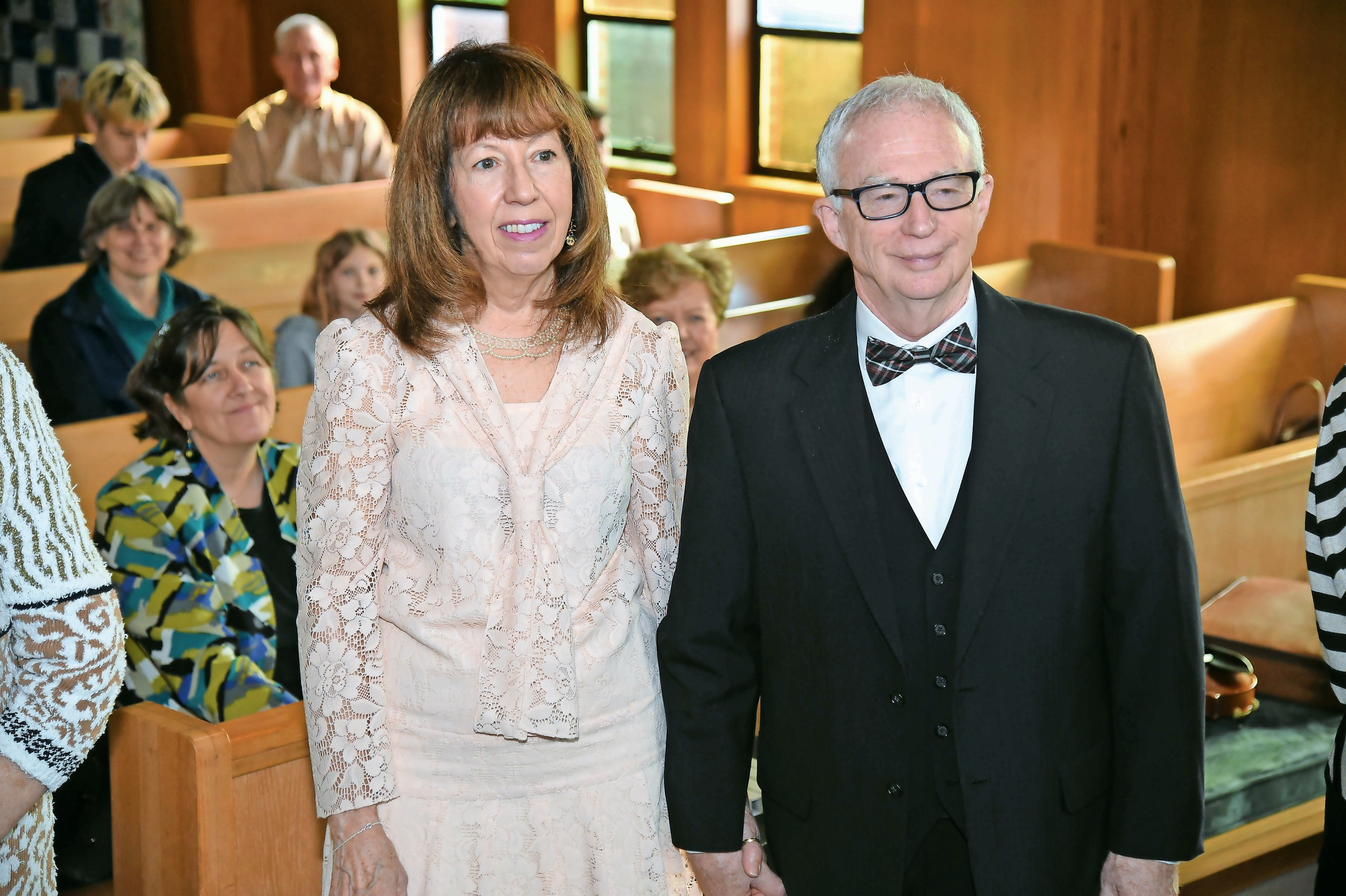 Peter and Beverly Perlow, who have been married for 48 years, said that they were excited to renew their vows.