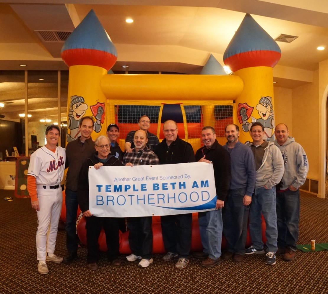 The Carnival was sponsored and run by Temple Beth Am's Brotherhood and was attended and enjoyed by over 120 costume-clad children from the Bellmore-Merrick community.