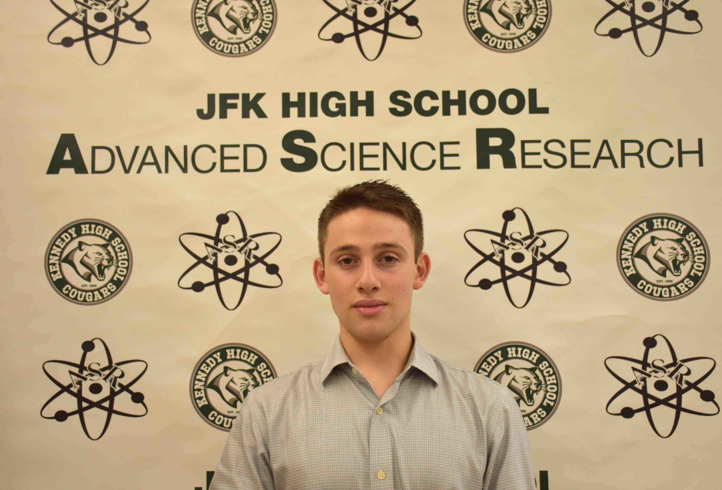 John F. Kennedy High School senior Max Basil will once again be a published author in the science community.