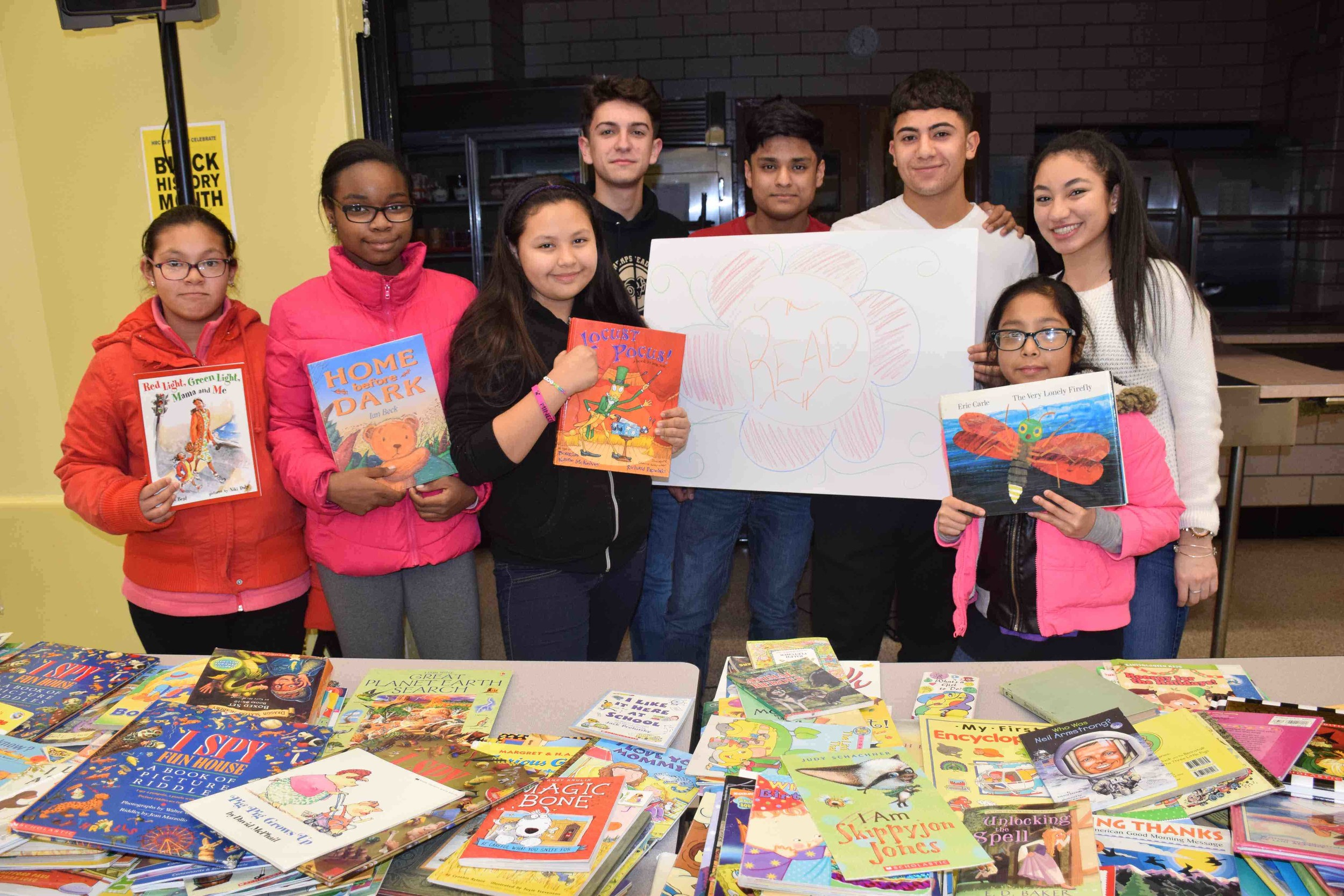 West Hempstead High School held its annual Family Literacy Night for the community last month.