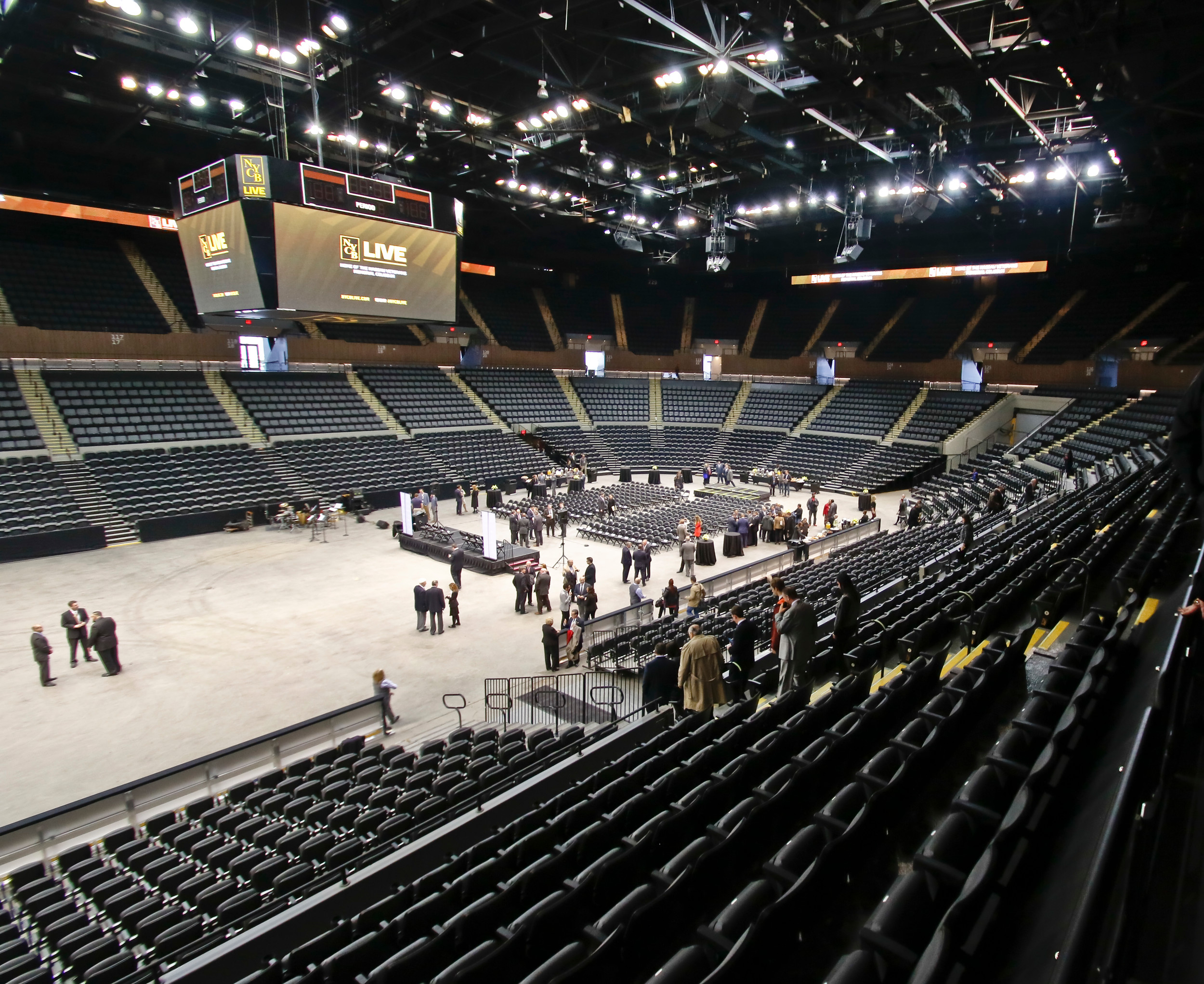 The new venue is 416,000 sq ft. Concerts can seat up to 16,000; Basketball 14,000; MMA/Boxing 14,500; Hockey 13,900 and Theater 4,500. Guests will have access to free Wi-Fi and the new venue says it has better phone service then the old one.
