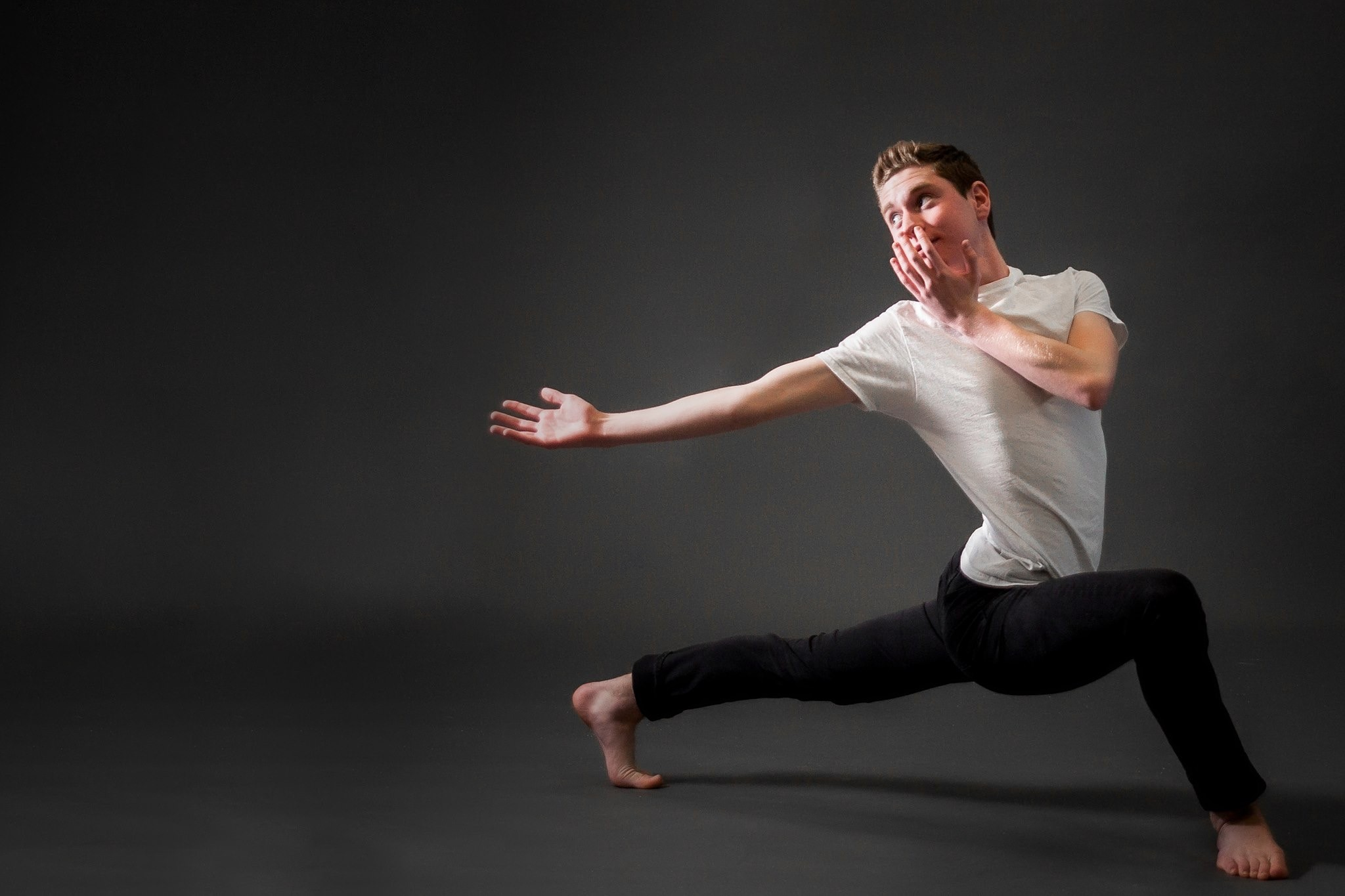 Jared Stern, of Seaford, studies dance at the Long Island High School for the Arts.